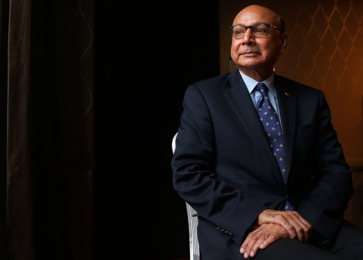 Khizr Khan Portrait he Muslim Gold Star Father who spoke at the DNC and attacked Donald Trump for his rhetoric about immigrants and Muslims