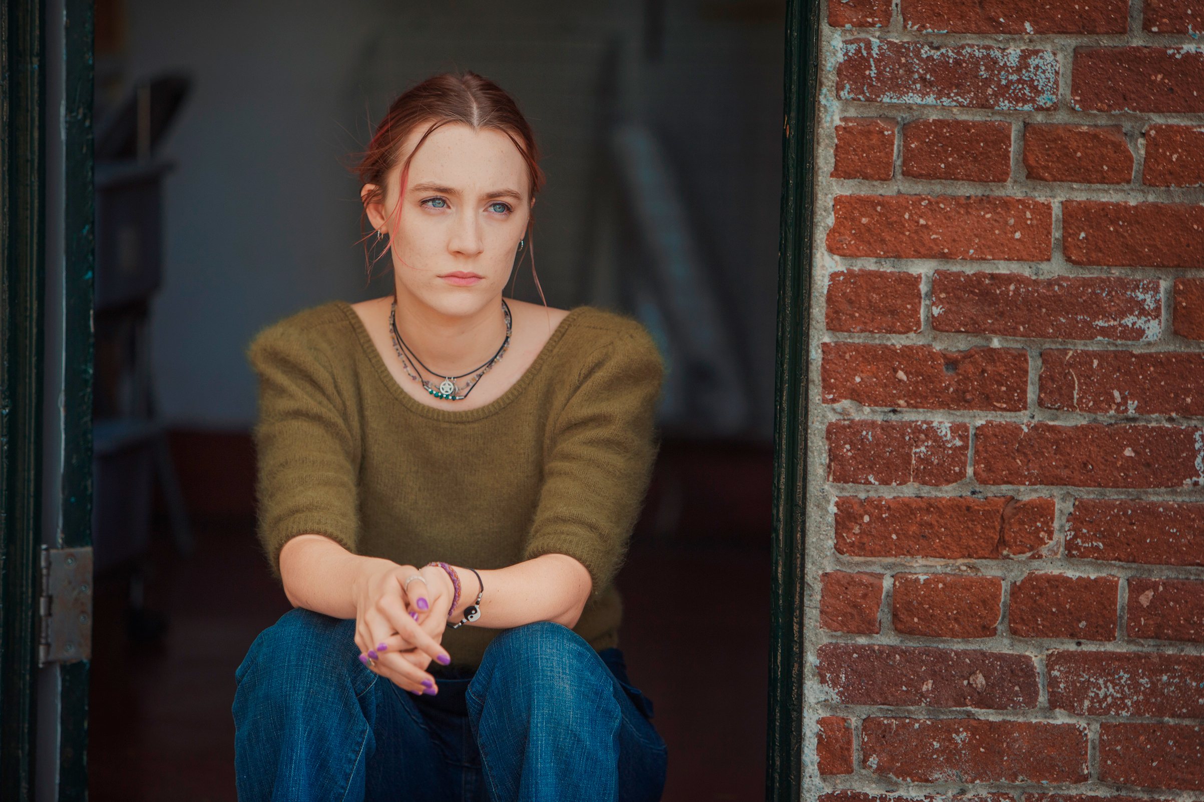 Ronan as Christine, a.k.a. Lady Bird. She wants everything, right away, yet even a $3 magazine is out of reach