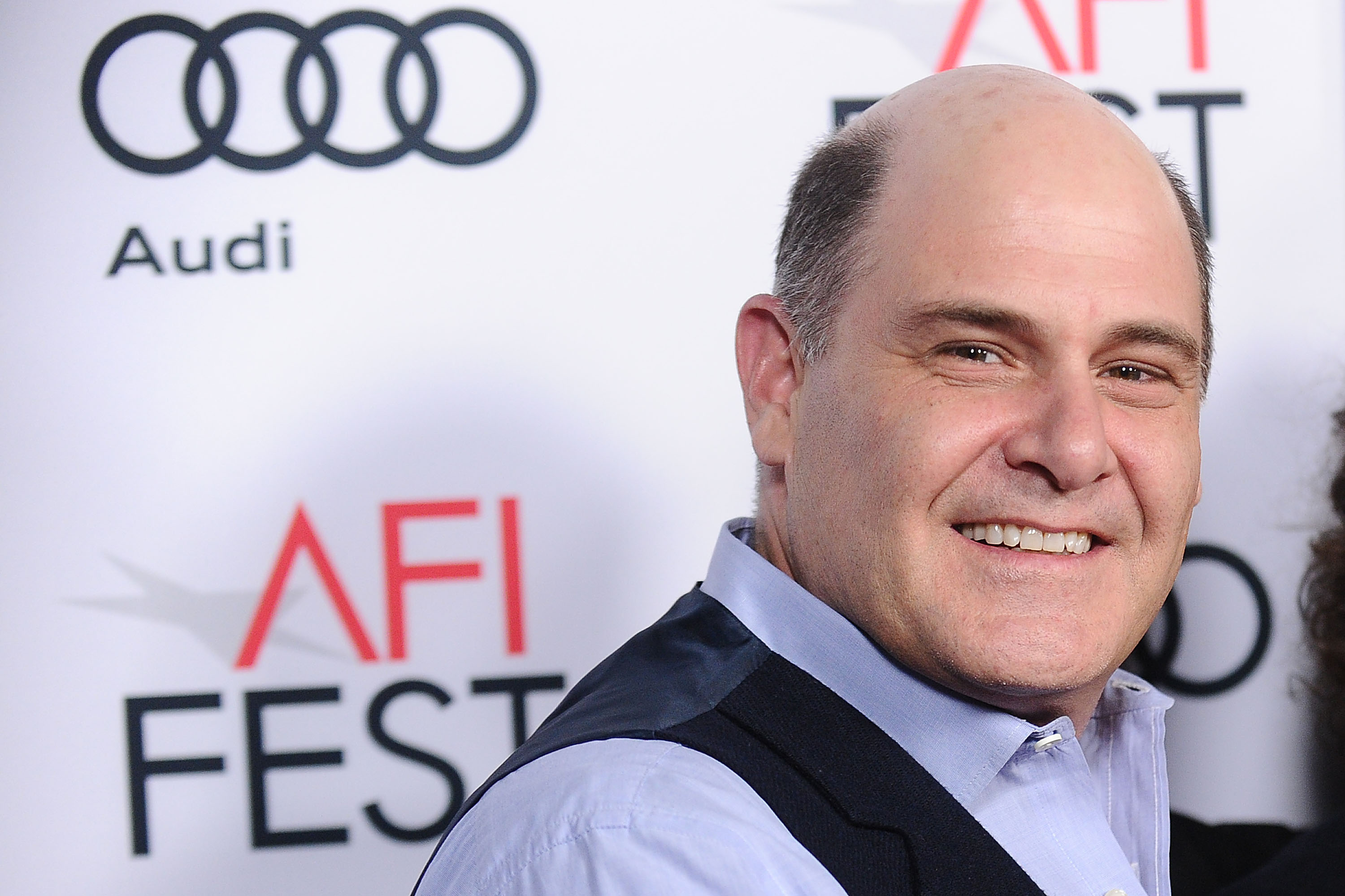 Matthew Weiner attends Cinema's Legacy conversation for  Flirting with Disaster  at the 2016 AFI Fest at TCL Chinese 6 Theatres in Hollywood, on November 11, 2016.