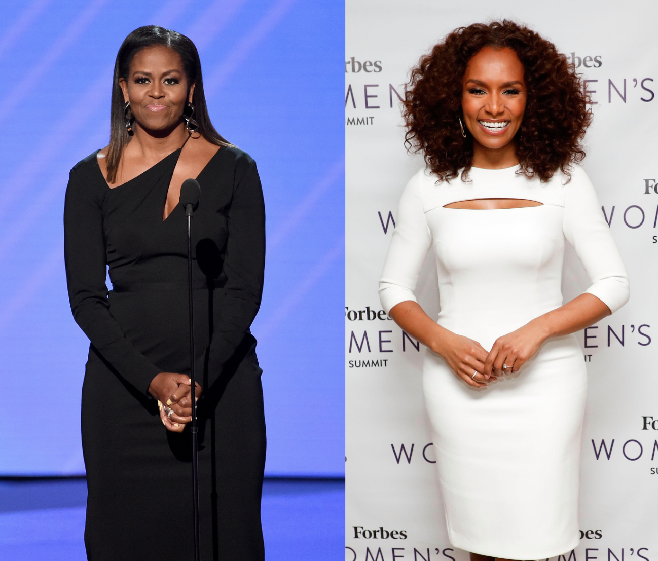 Michelle Obama and Janet Mock