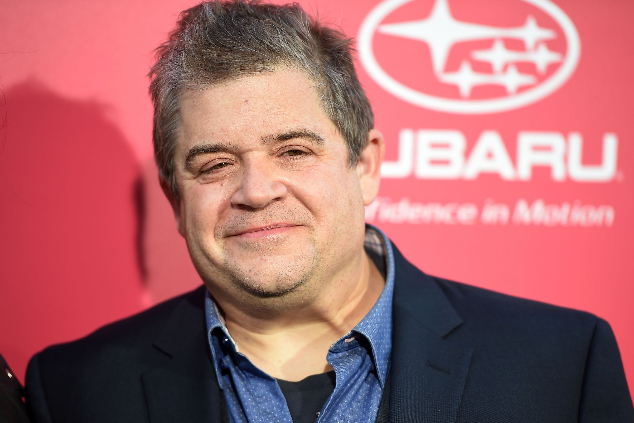 Patton Oswalt attends the premiere of  Baby Driver  in Los Angeles, California, on June 14, 2017.