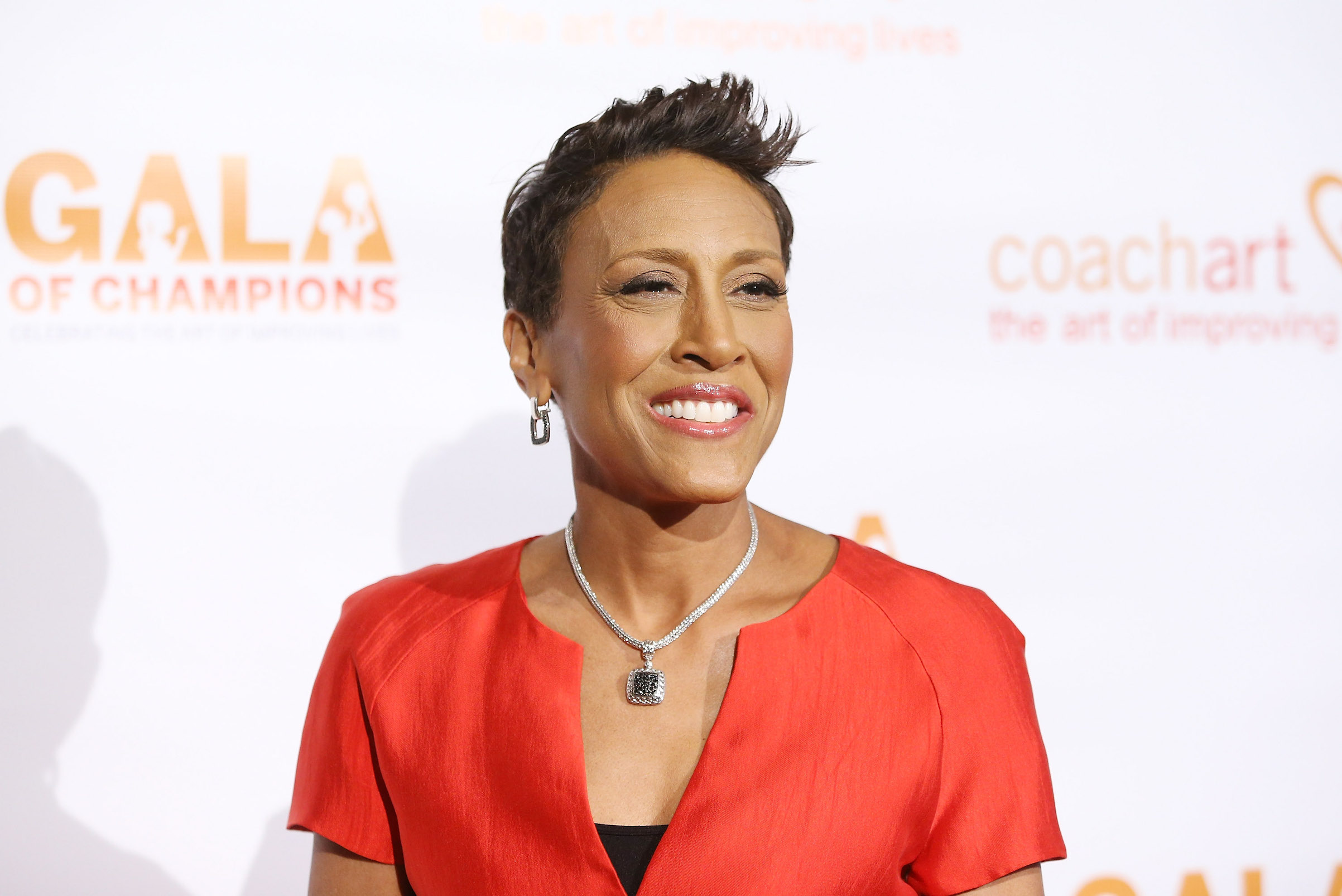 Robin Roberts arrives at the CoachArt Gala of Champions on Oct. 17, 2013 in Beverly Hills, California.