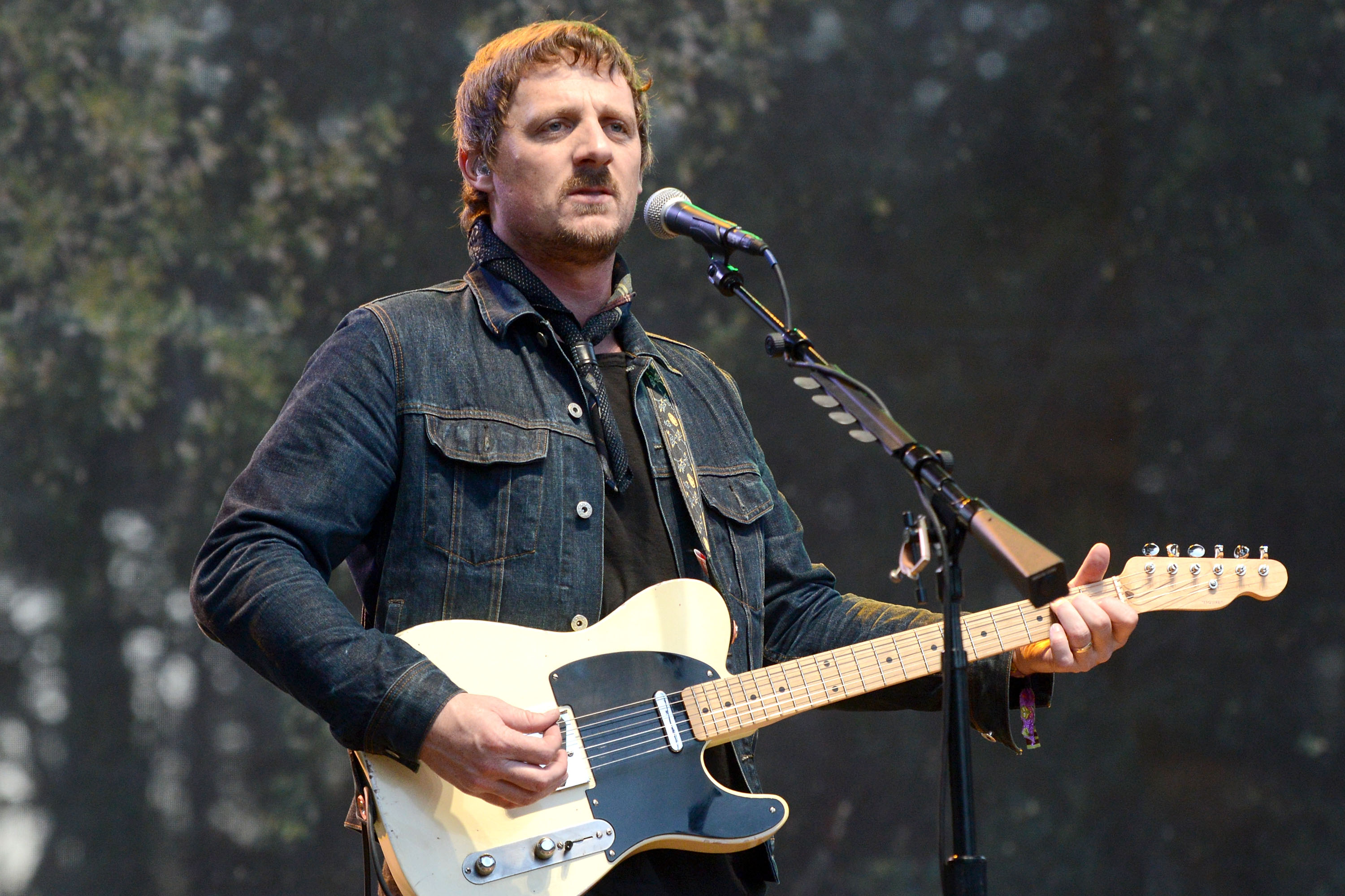 Singer Sturgill Simpson performs onstage during the Hardly Strictly Bluegrass music festival at Golden Gate Park on October 7, 2017 in San Francisco, California.