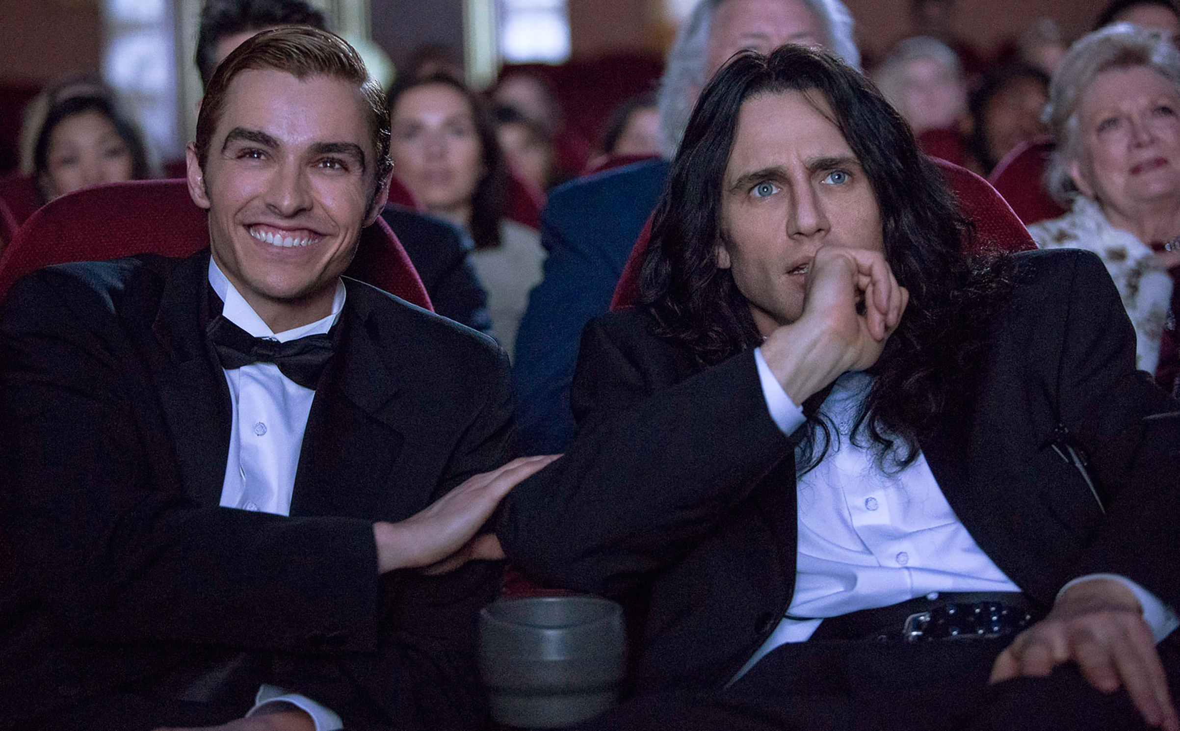 Dave, left, and James stocked the movie with an impressive number of comedy cameos from people like Zac Efron and Judd Apatow