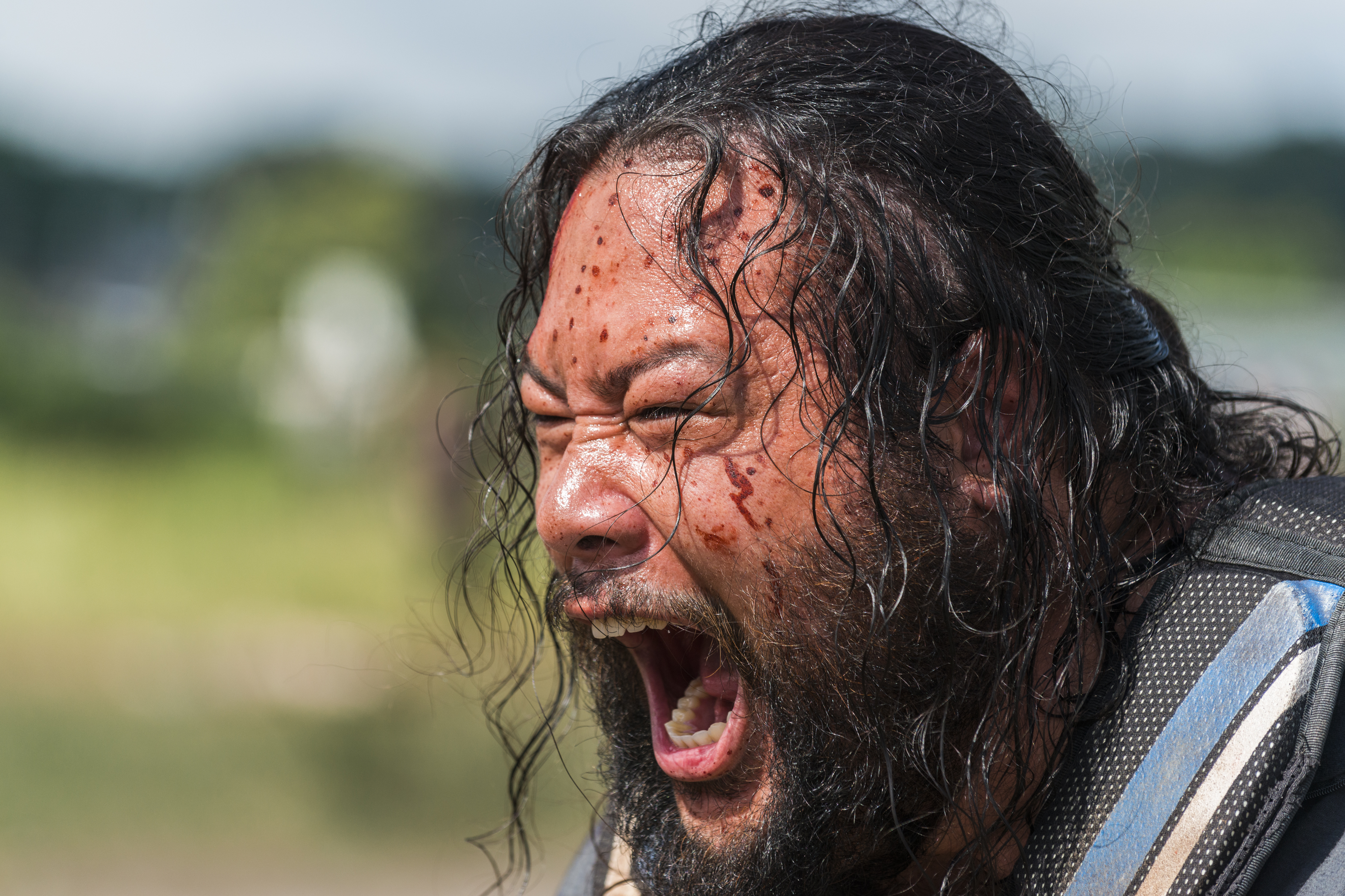 Cooper Andrews as Jerry in The Walking Dead Season 8, Episode 4