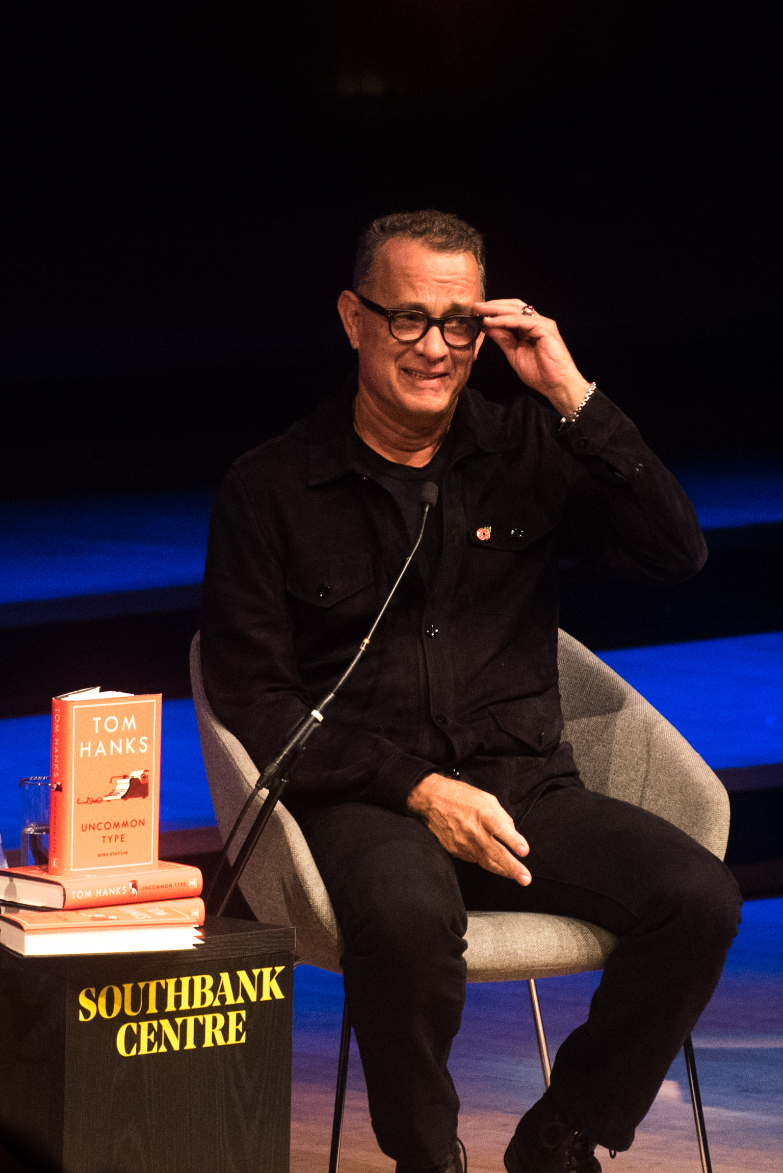 Tom Hanks at the Southbank Centre's London Literature Festival.