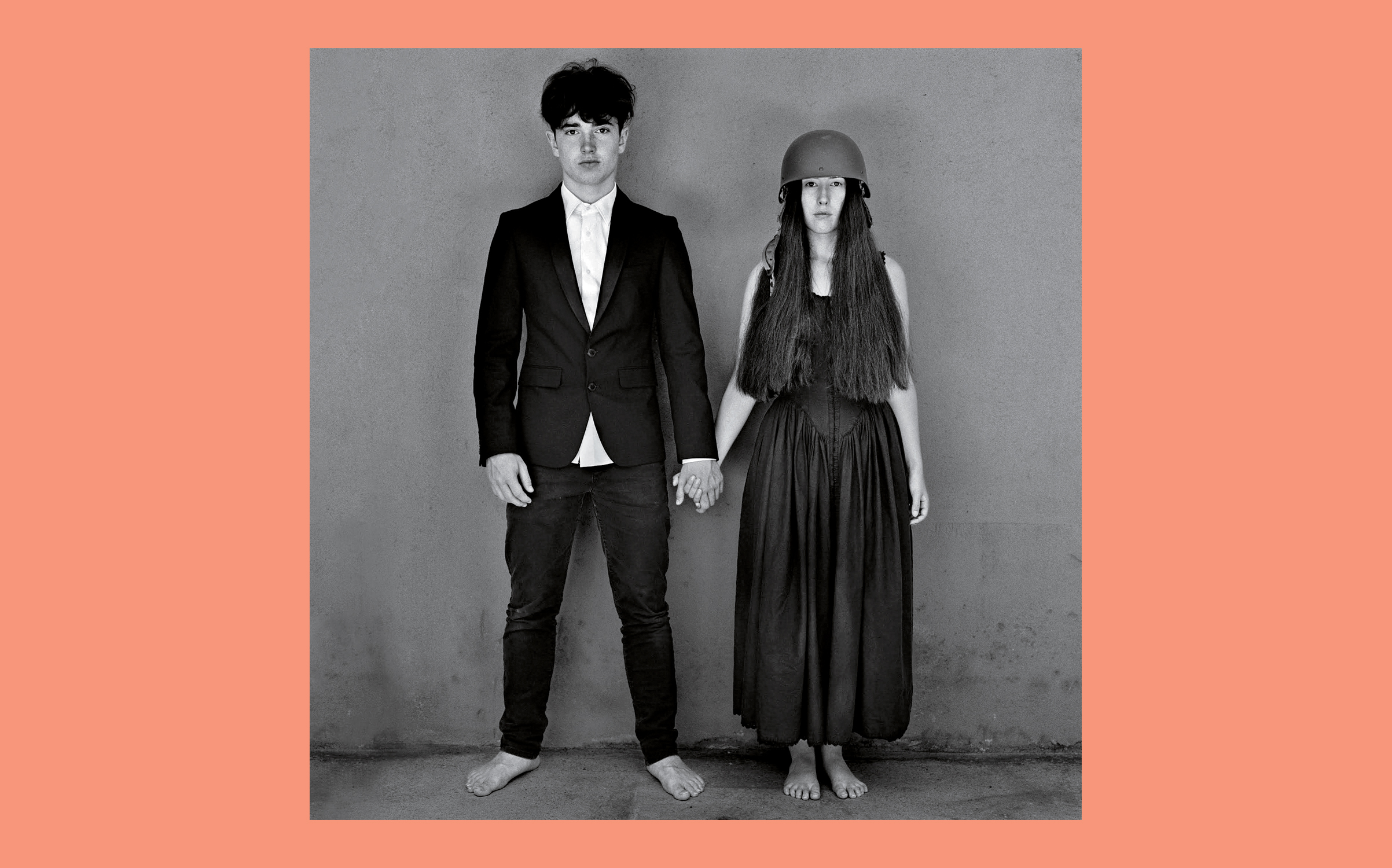 The album artwork, shot by longtime U2 photographer Anton Corbijn, shows Bono's son Eli and the Edge's daughter Sian holding hands.