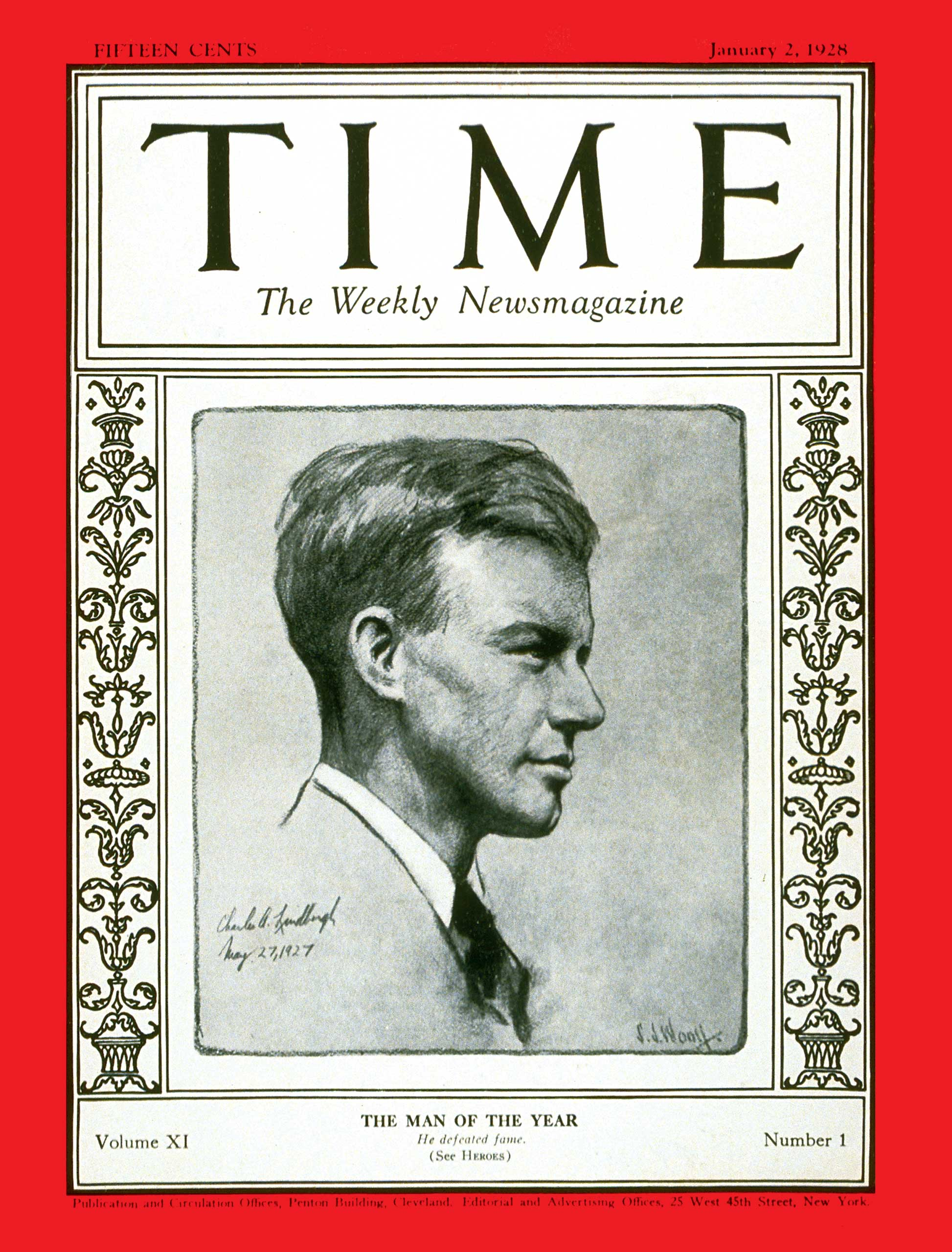 The response to TIME naming Charles Lindbergh its Man of the Year for 1927 prompted the magazine to start the franchise we know today as Person of the Year.