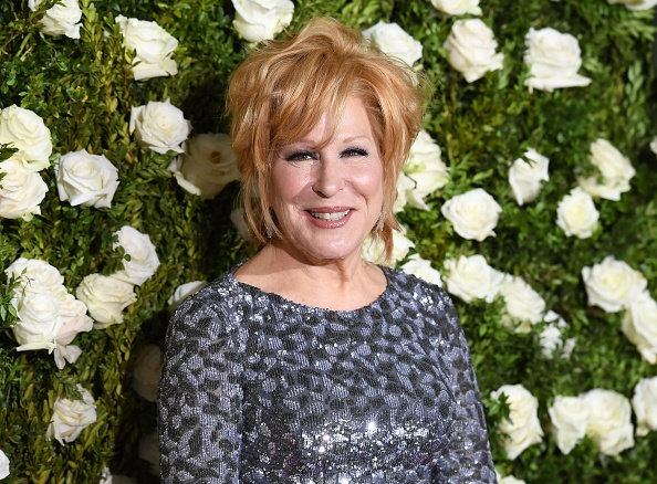 Bette Midler attends the 2017 Tony Awards - Red Carpet at Radio City Music Hall in New York City on June 11, 2017.