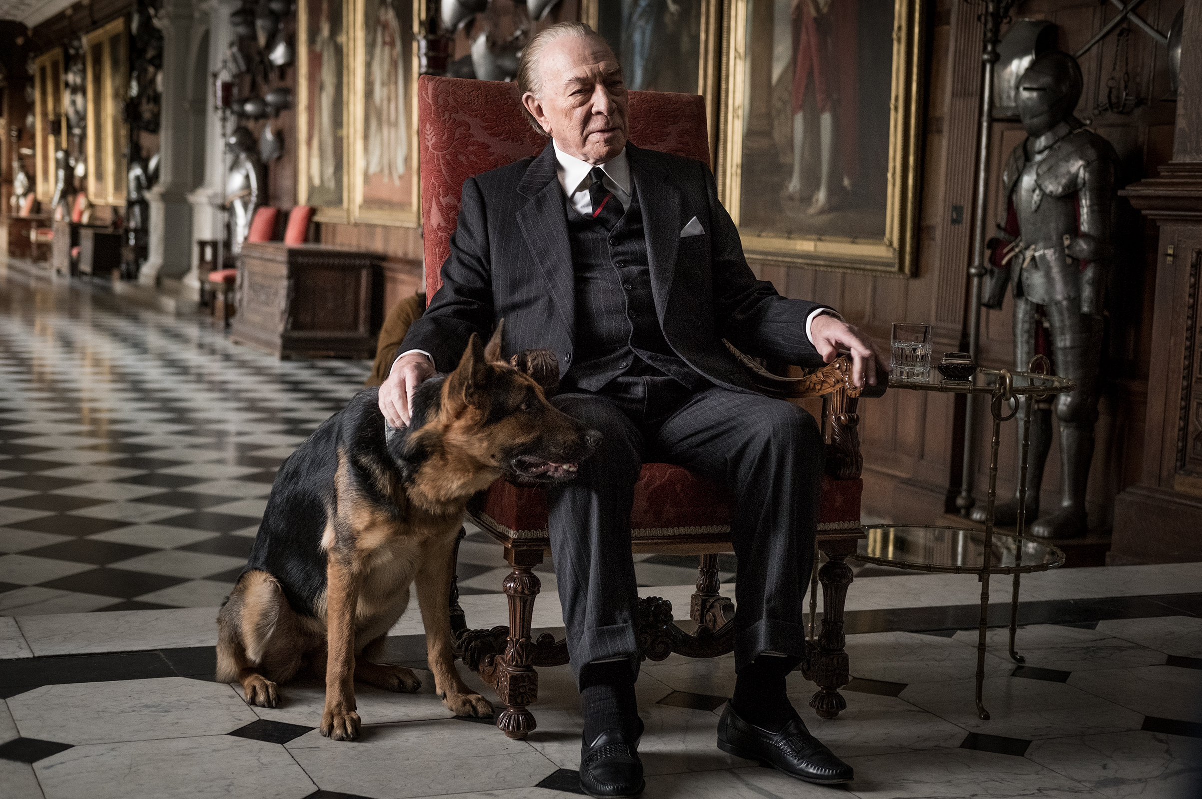 Christopher Plummer as J. Paul Getty.