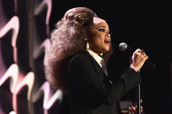 Honoree Andra Day performs onstage during the 21st Annual Hollywood Film Awards at The Beverly Hilton Hotel on Nov. 5, 2017 in Beverly Hills, Calif.
