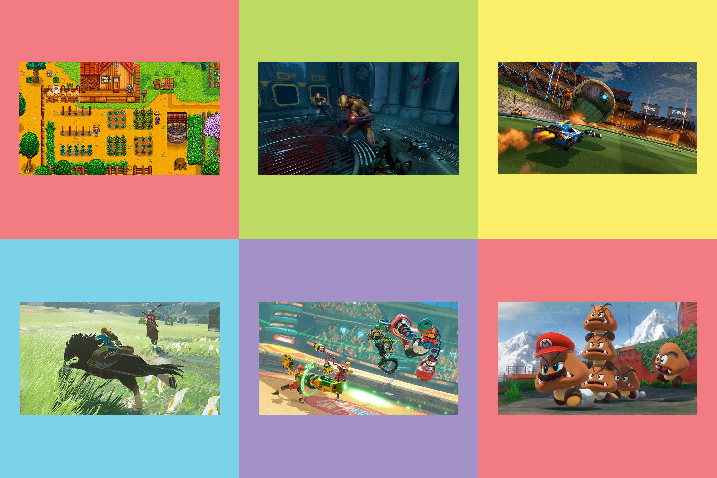 Best Nintendo Switch Games 2017 Time