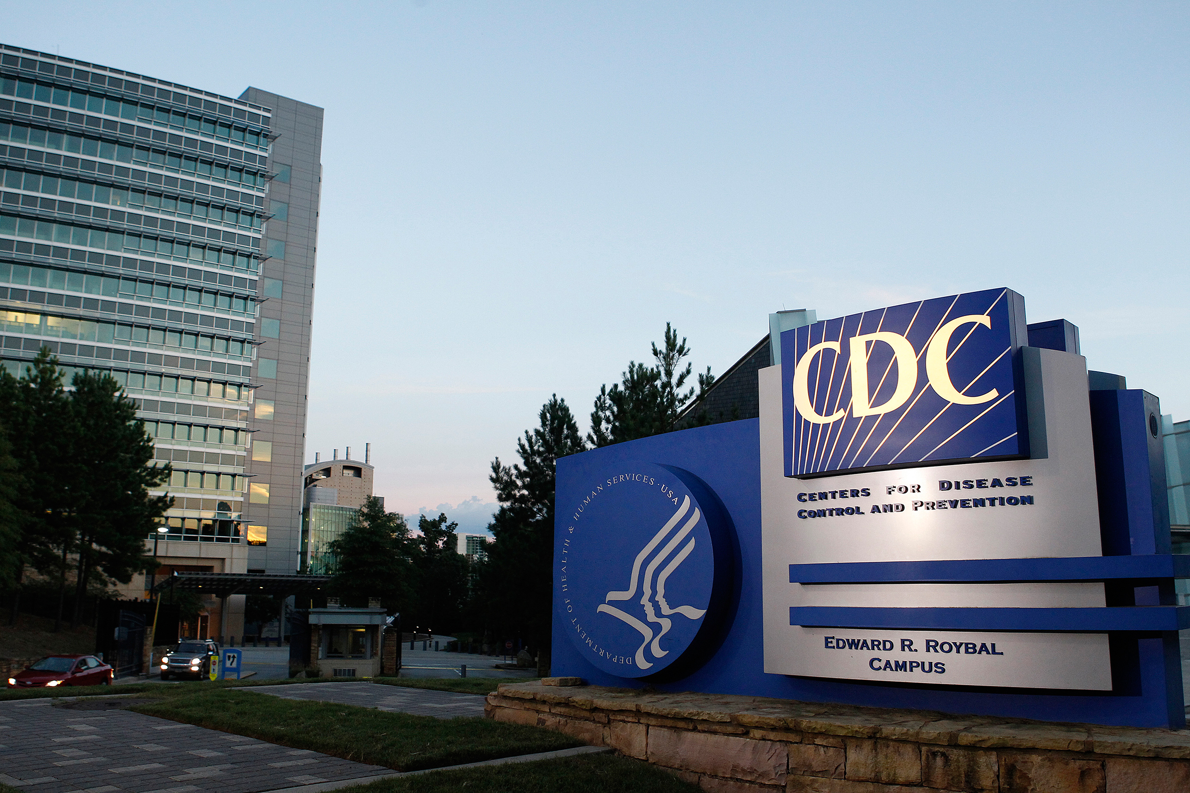 A general view of the Centers for Disease Control and Prevention (CDC) headquarters in Atlanta, Georgia Sept. 30, 2014.