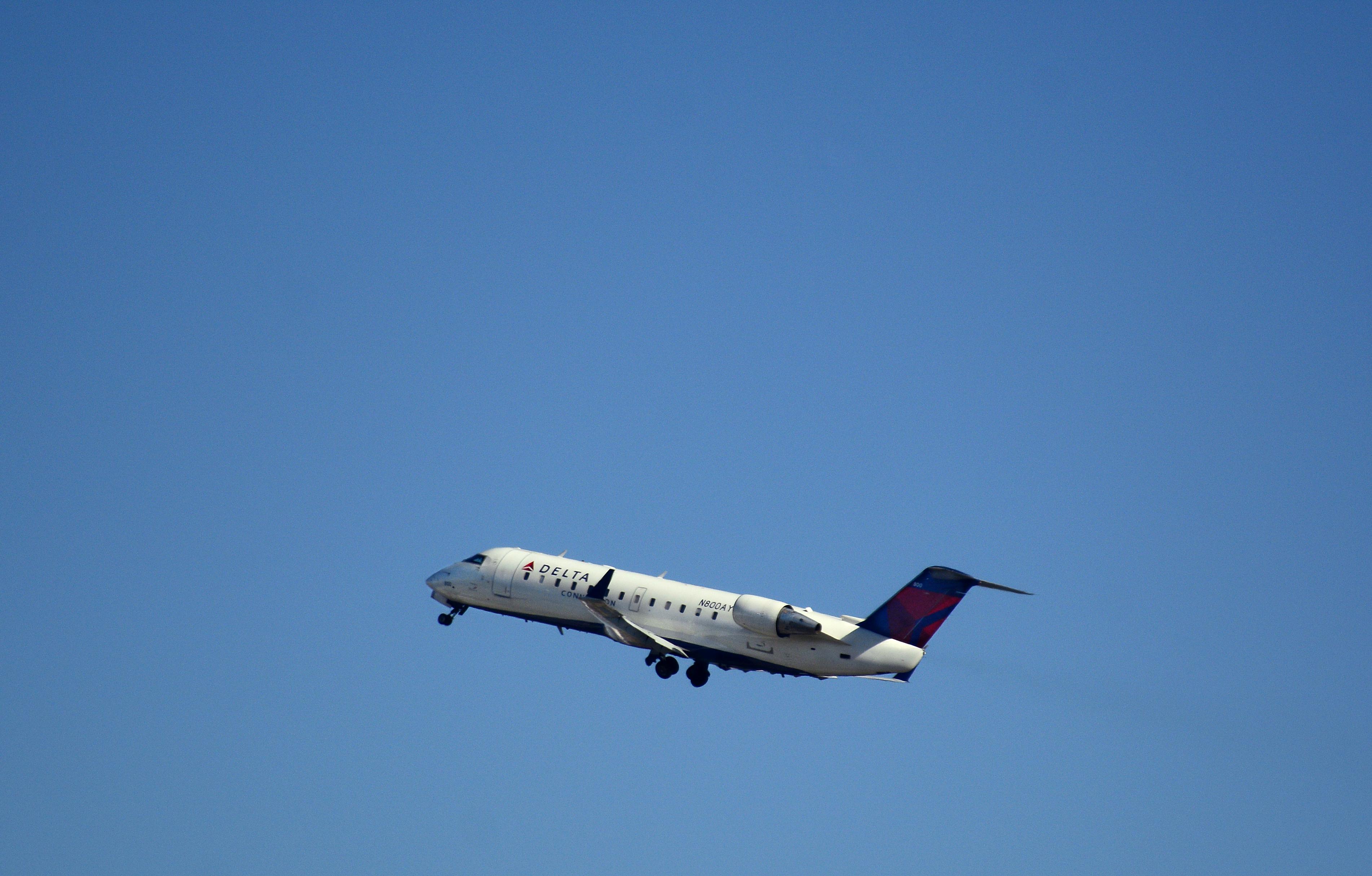 A Delta Connection passenger jet.