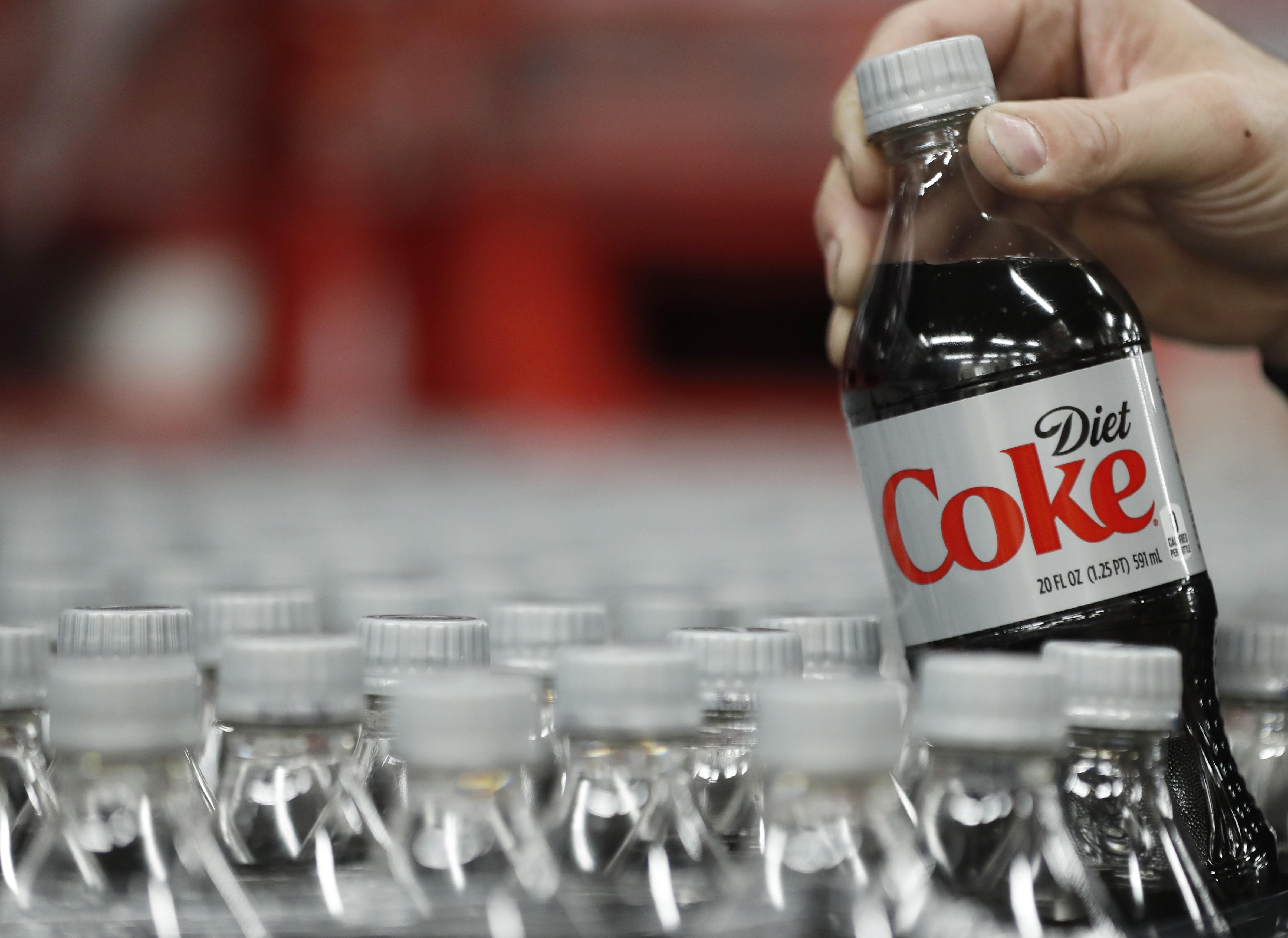 Diet Coke.