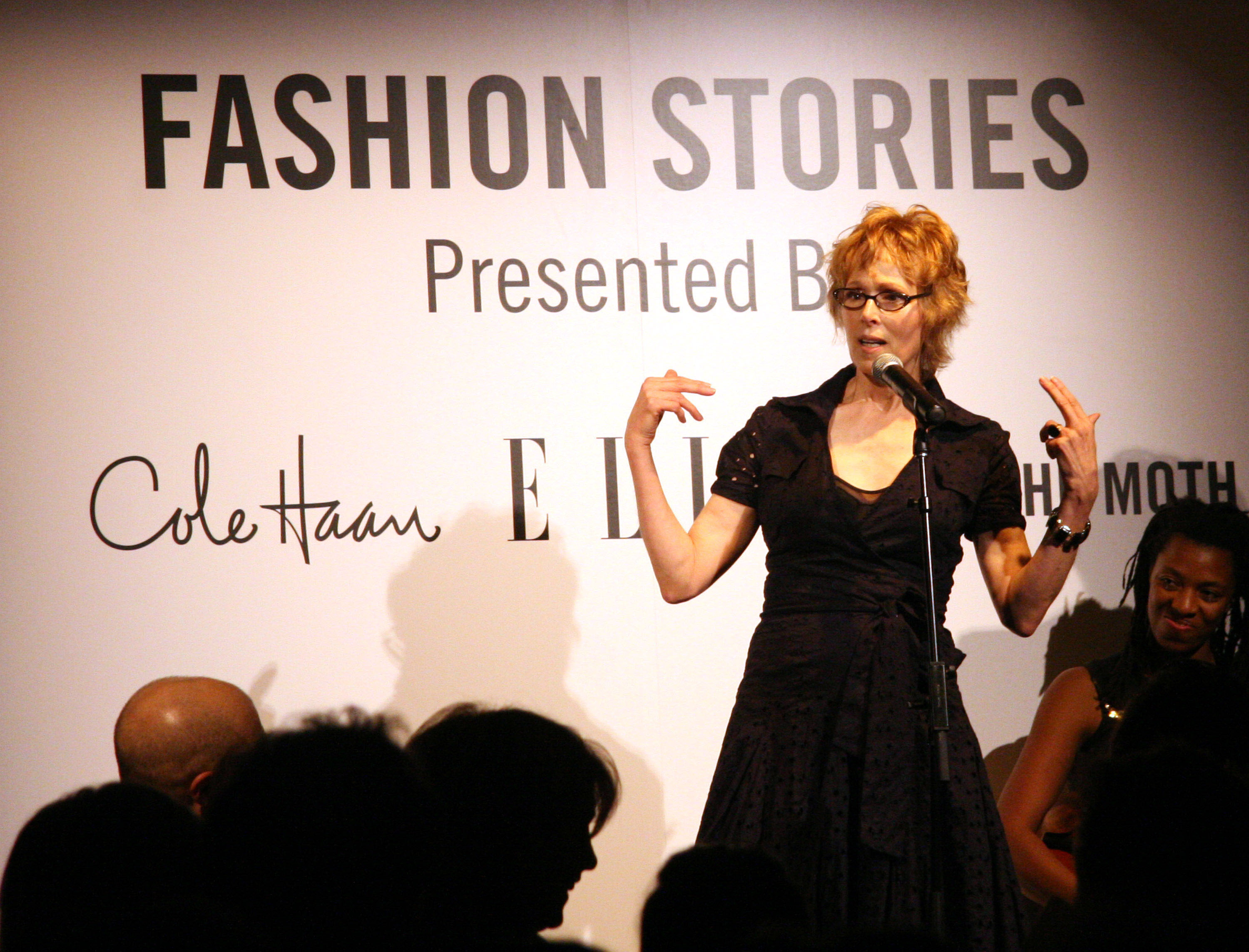 E. Jean Carroll during Elle Magazine Party - September 20, 2006 at 137 West 26th. St in New York City, New York, United States.