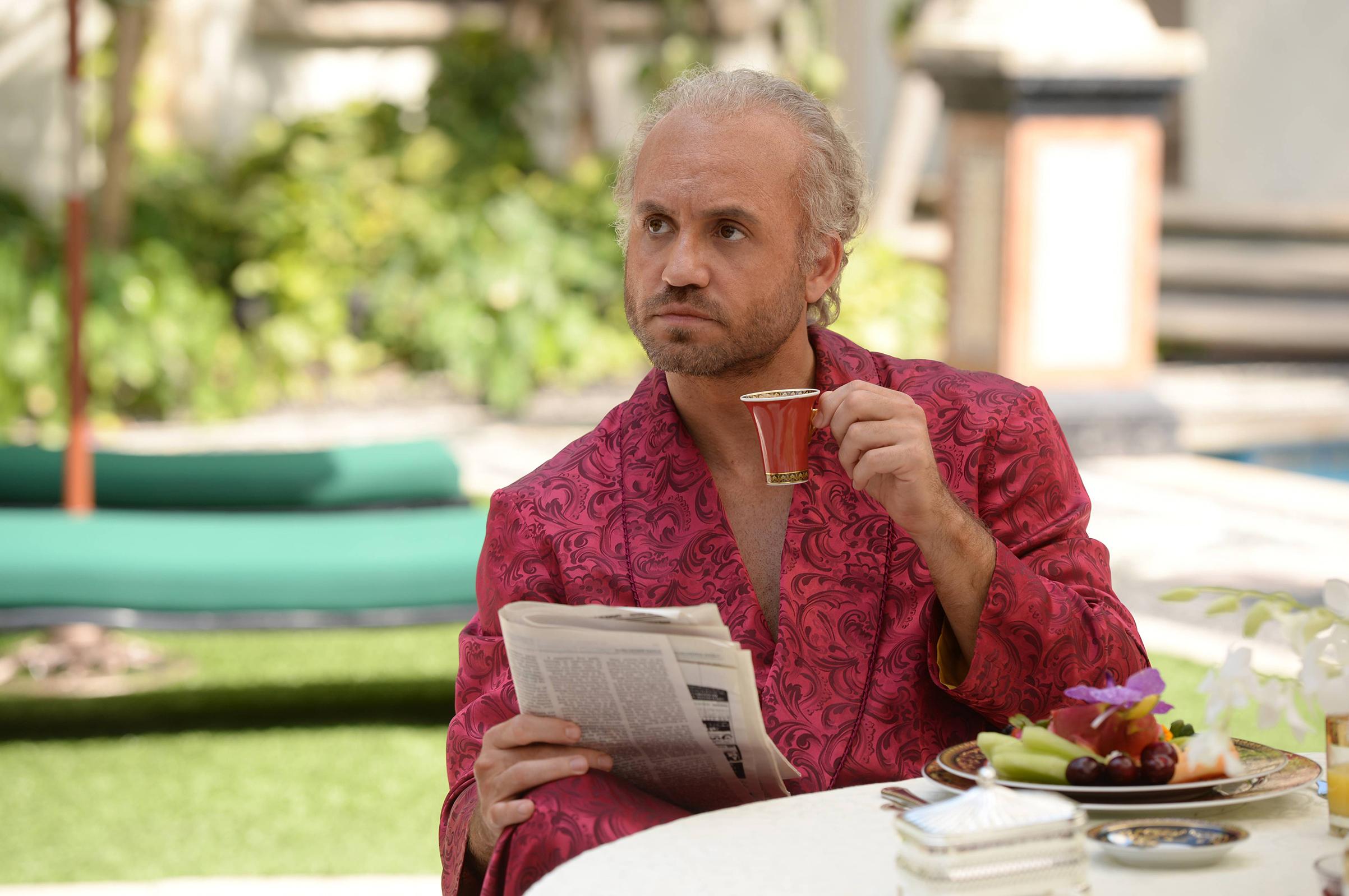Edgar Ramirez as Gianni Versace in Versace: American Crime Story.