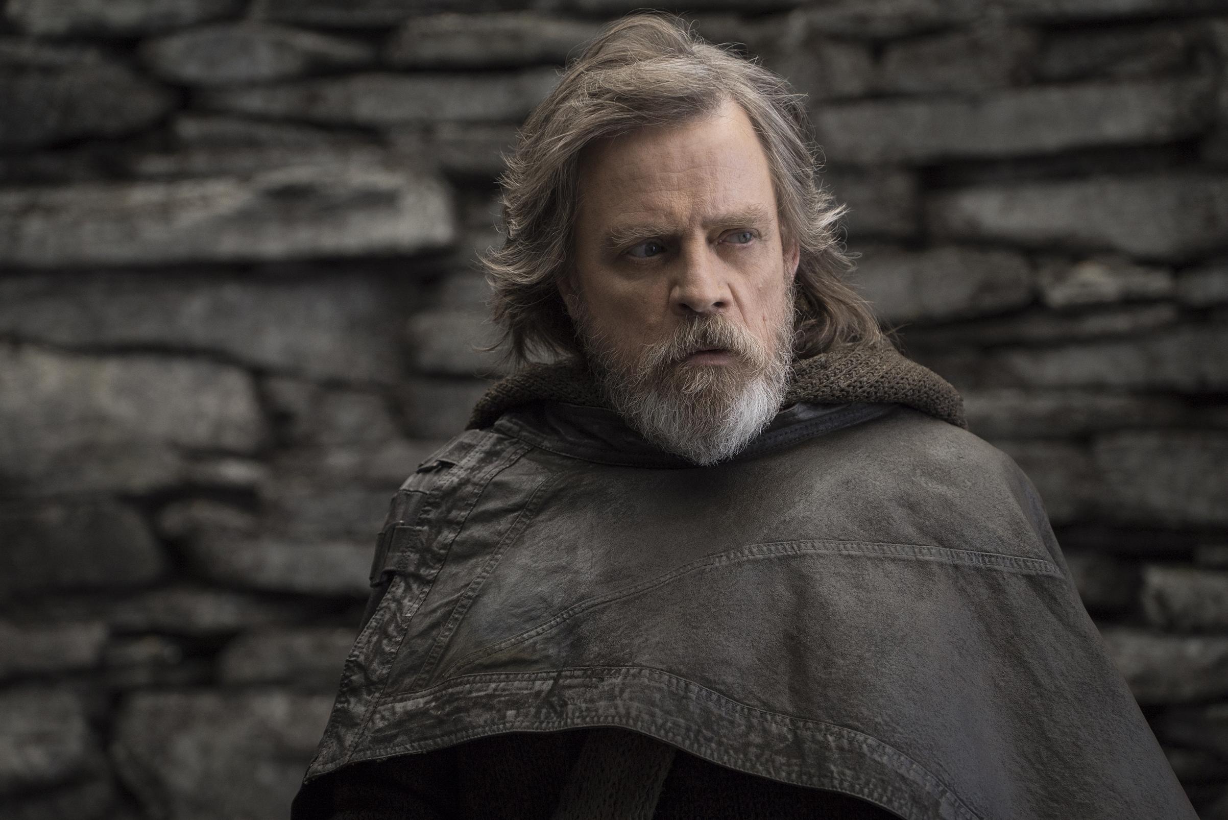 Luke Skywalker, The Last Jedi, Star Wars, Lucas Film