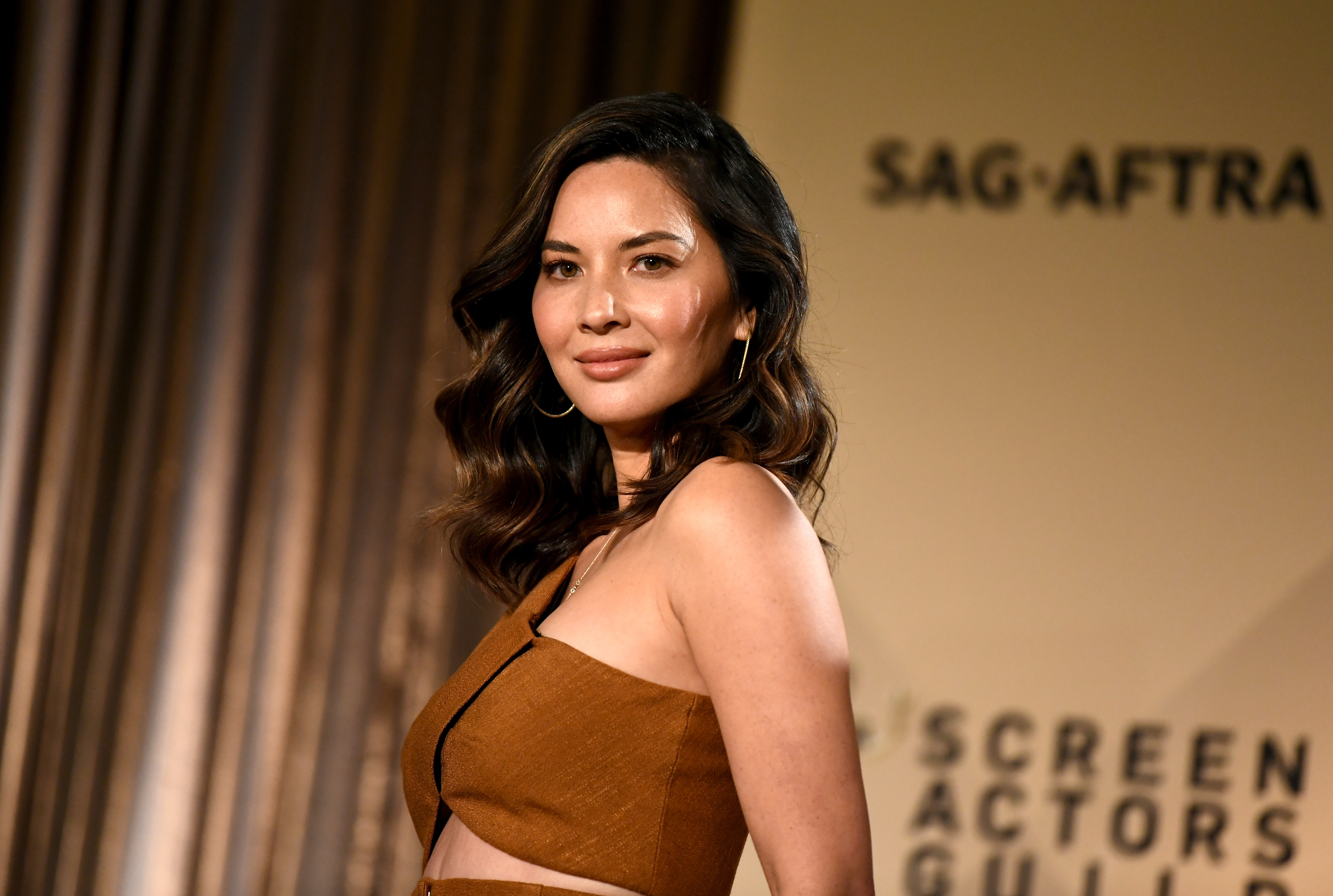 Actor Olivia Munn at the 24th Annual Screen Actors Guild Awards Nominations Announcement at Silver Screen Theater on December 13, 2017 in West Hollywood, California.