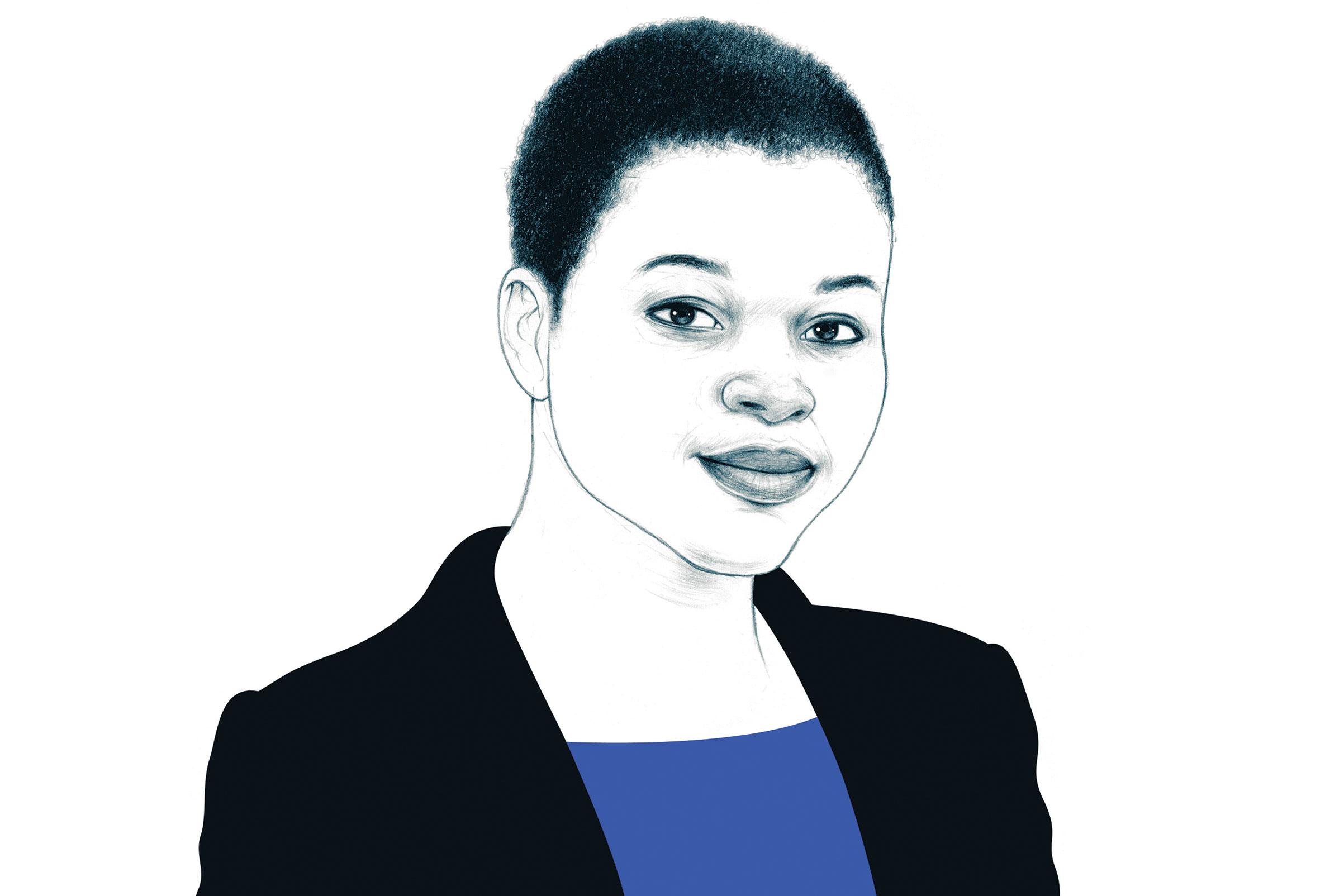 Dr. Adaora Okoli, Ebola survivor and disease fighter.