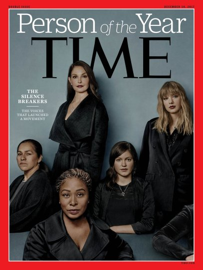 2017 Person of the Year Silence Breakers Time Magazine Cover