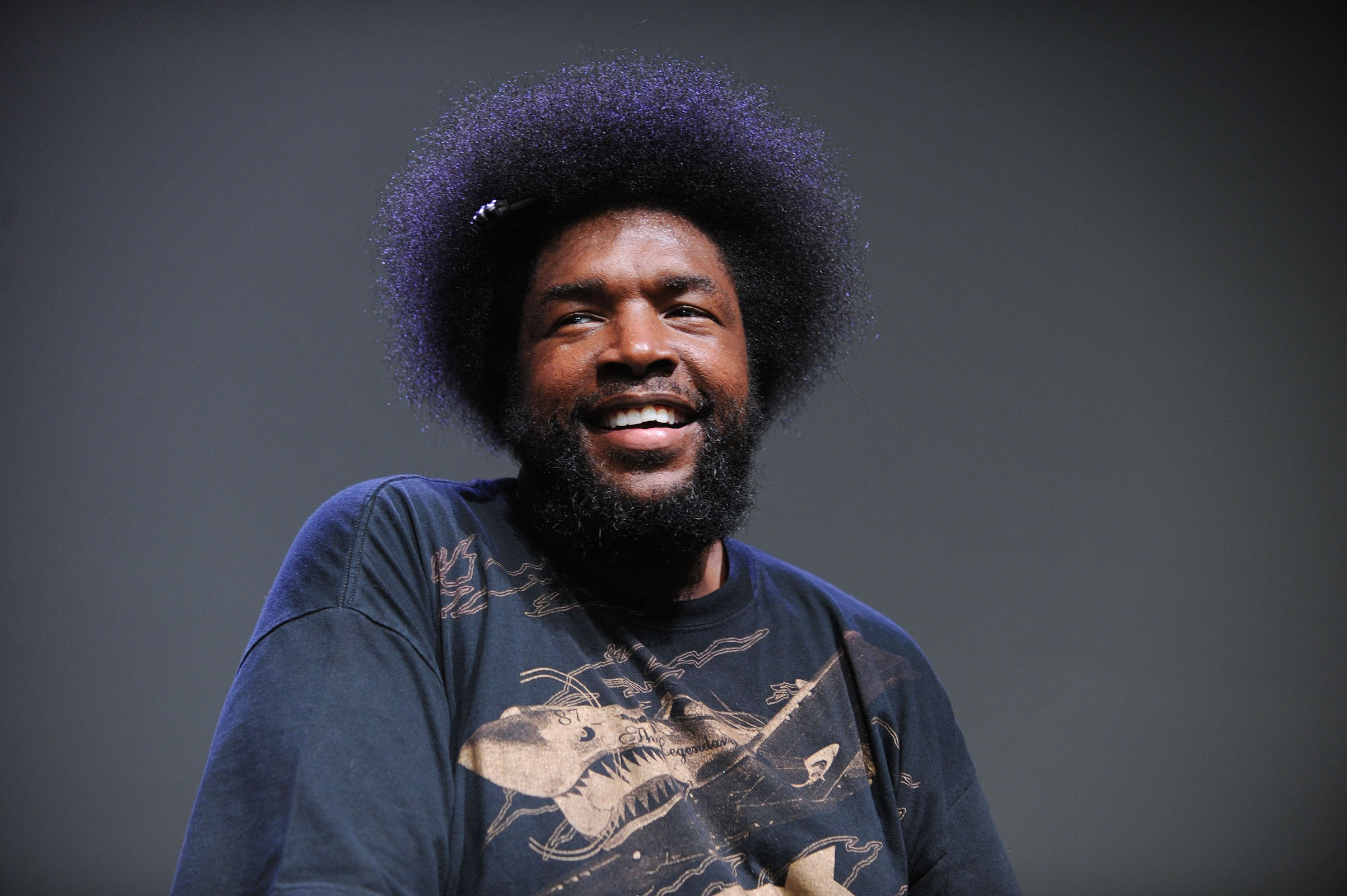 Questlove at Apple Store Soho on June 24, 2013 in New York City.