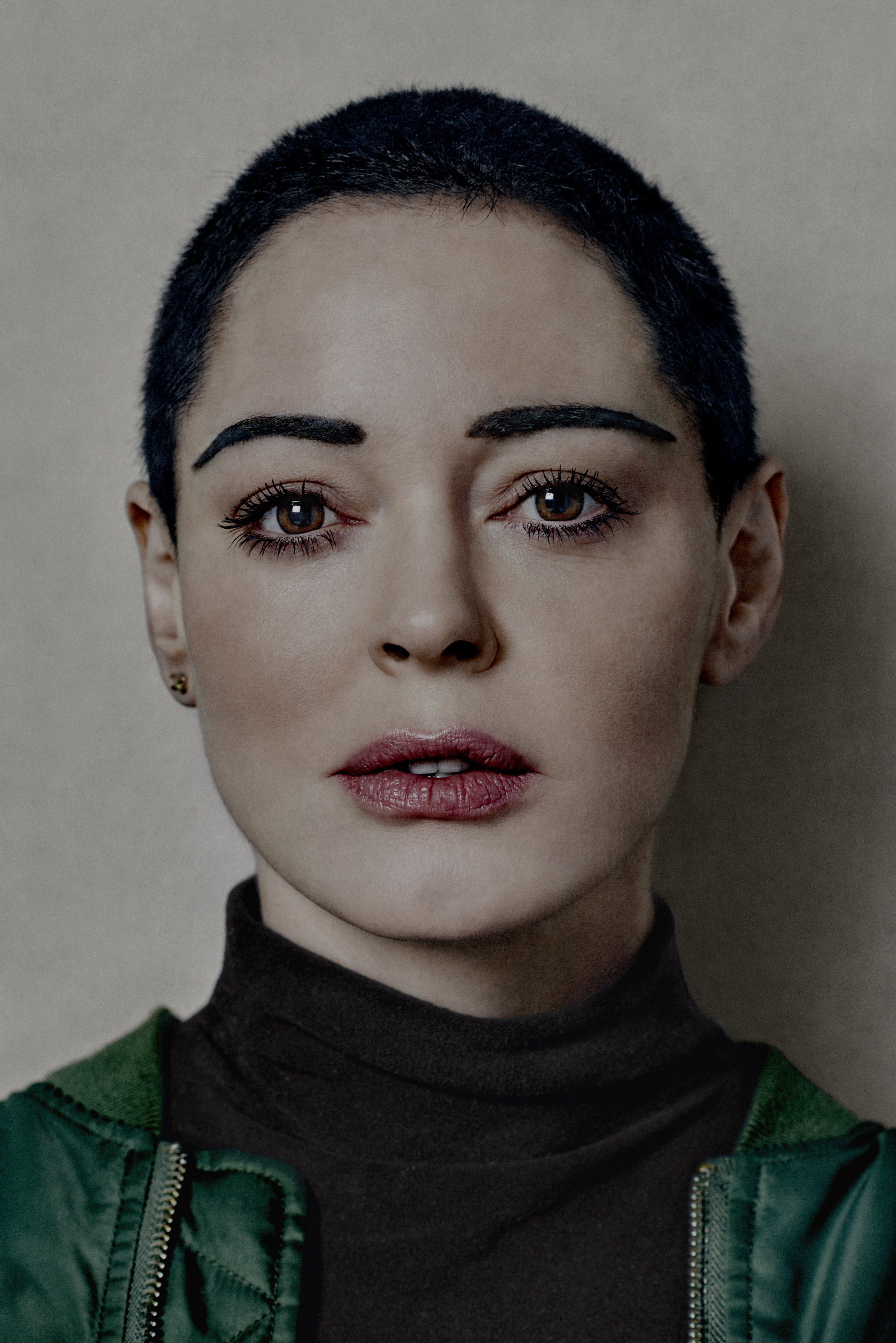 Rose McGowan, photographed Nov. 2017.