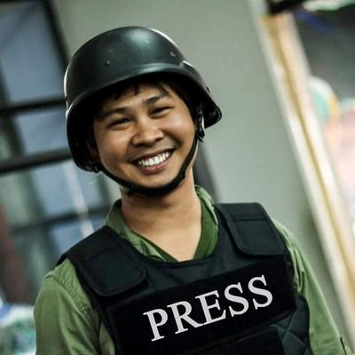 Reuters journalist Wa Lone, who is based in Myanmar, is seen in this undated picture taken in Myanmar.
