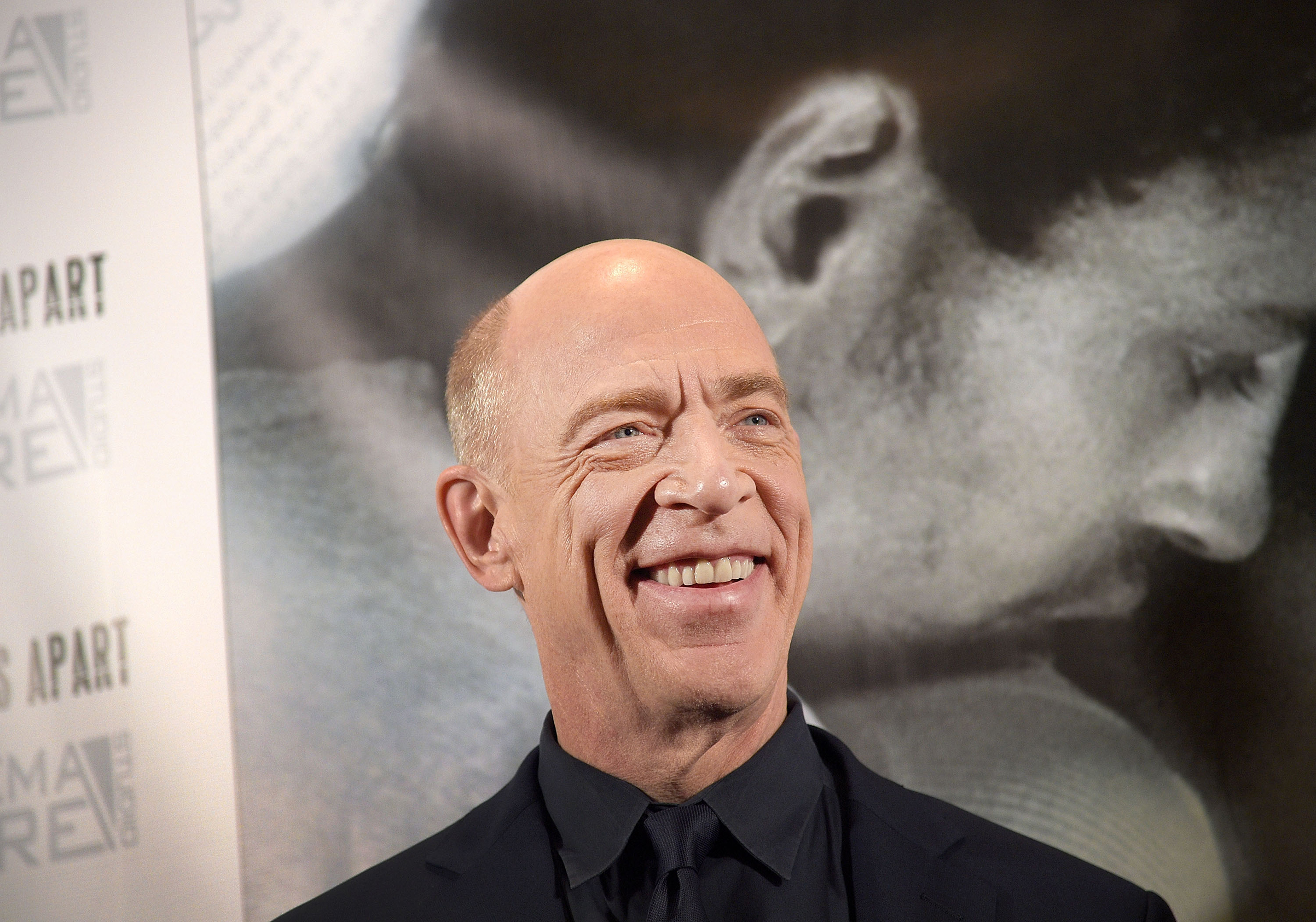 Actor J. K. Simmons attends the premiere of  Worlds Apart  at Village East Cinema on January 13, 2017 in New York City.