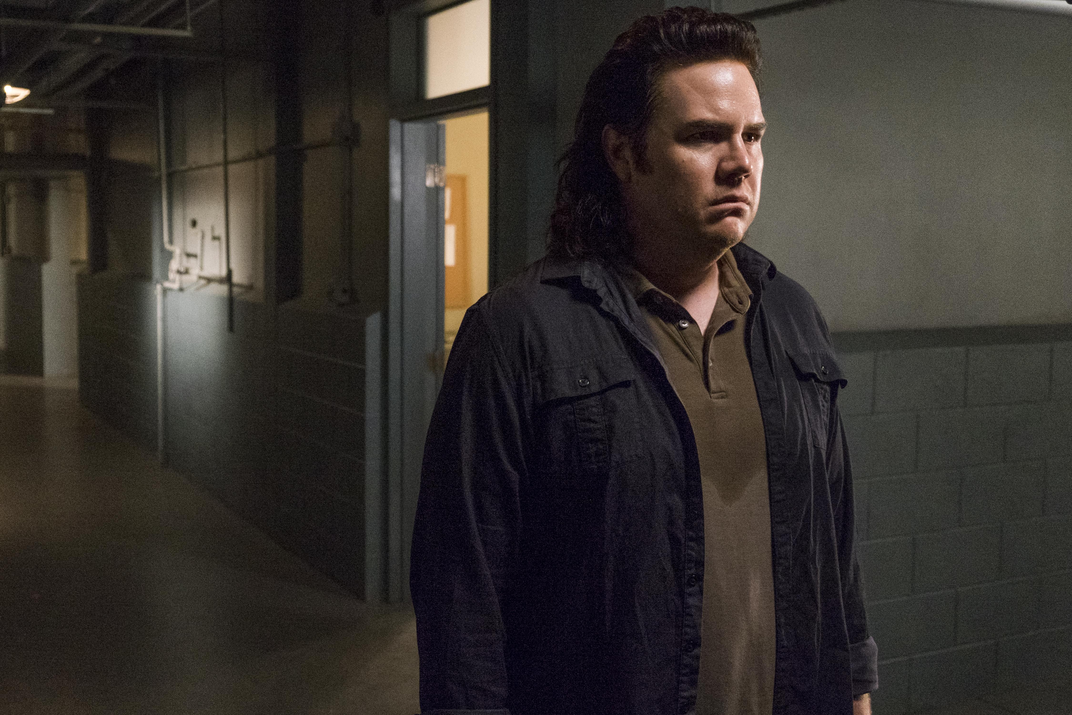 Josh McDermitt as Dr. Eugene Porter in 'The Walking Dead' Season 8, Episode 7