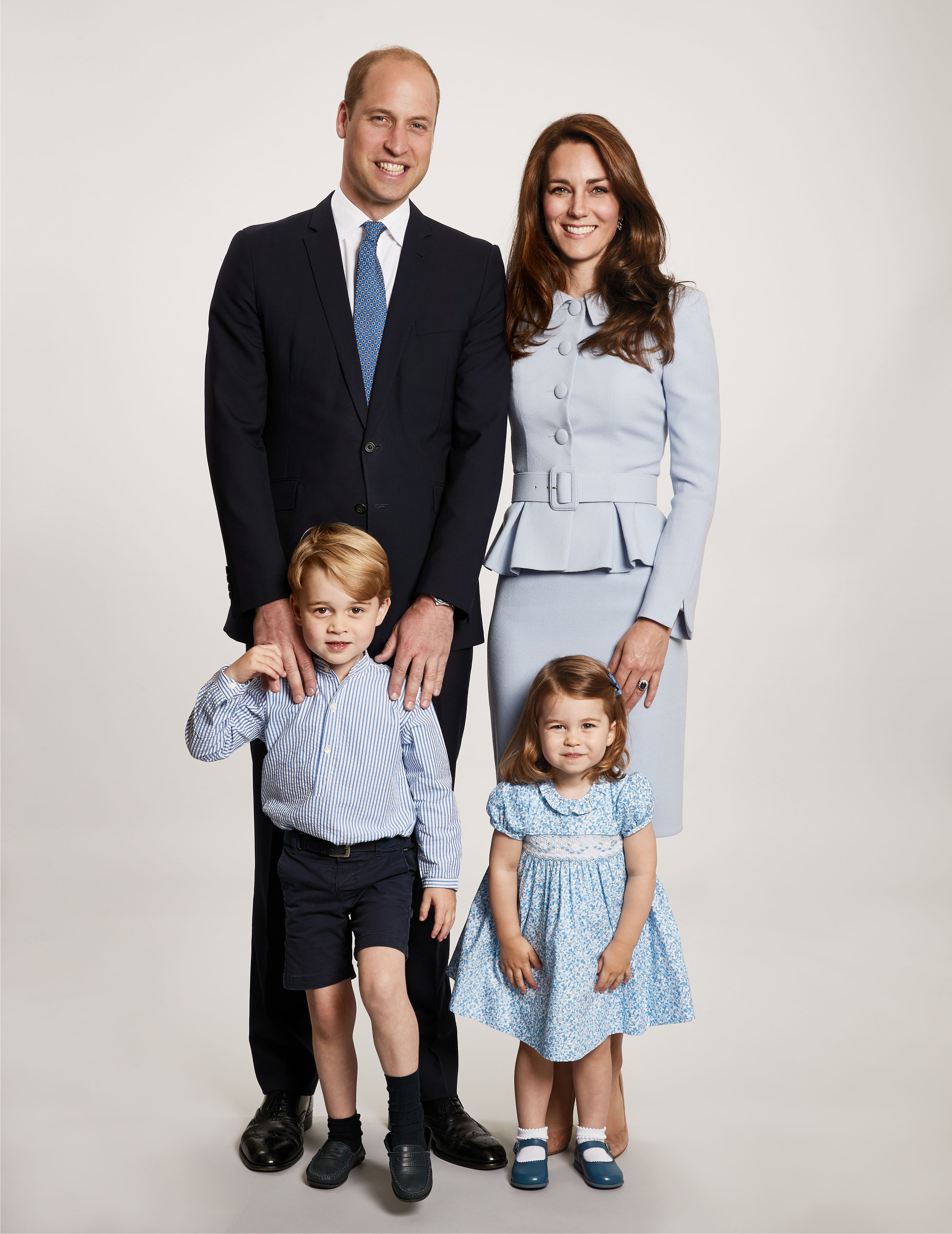 The Duke and Duchess of Cambridge's 2017 Christmas card