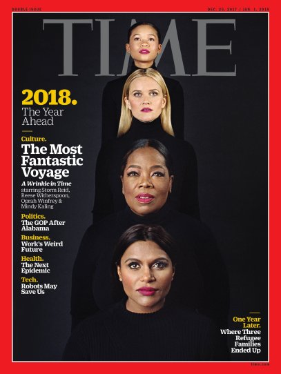 2018 The Year Ahead Wrinkle in Time Time Magazine Cover