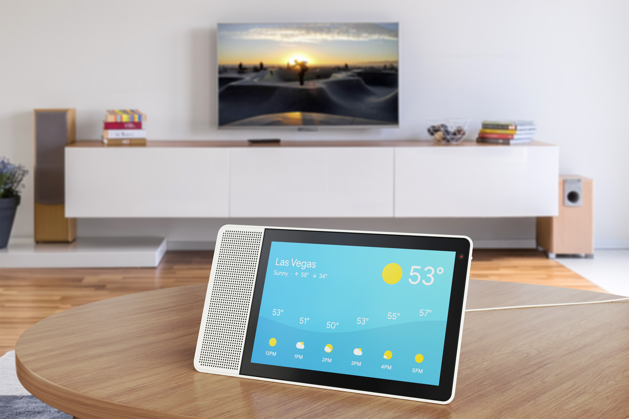 The Lenovo Smart Display includes support for the Google Assistant