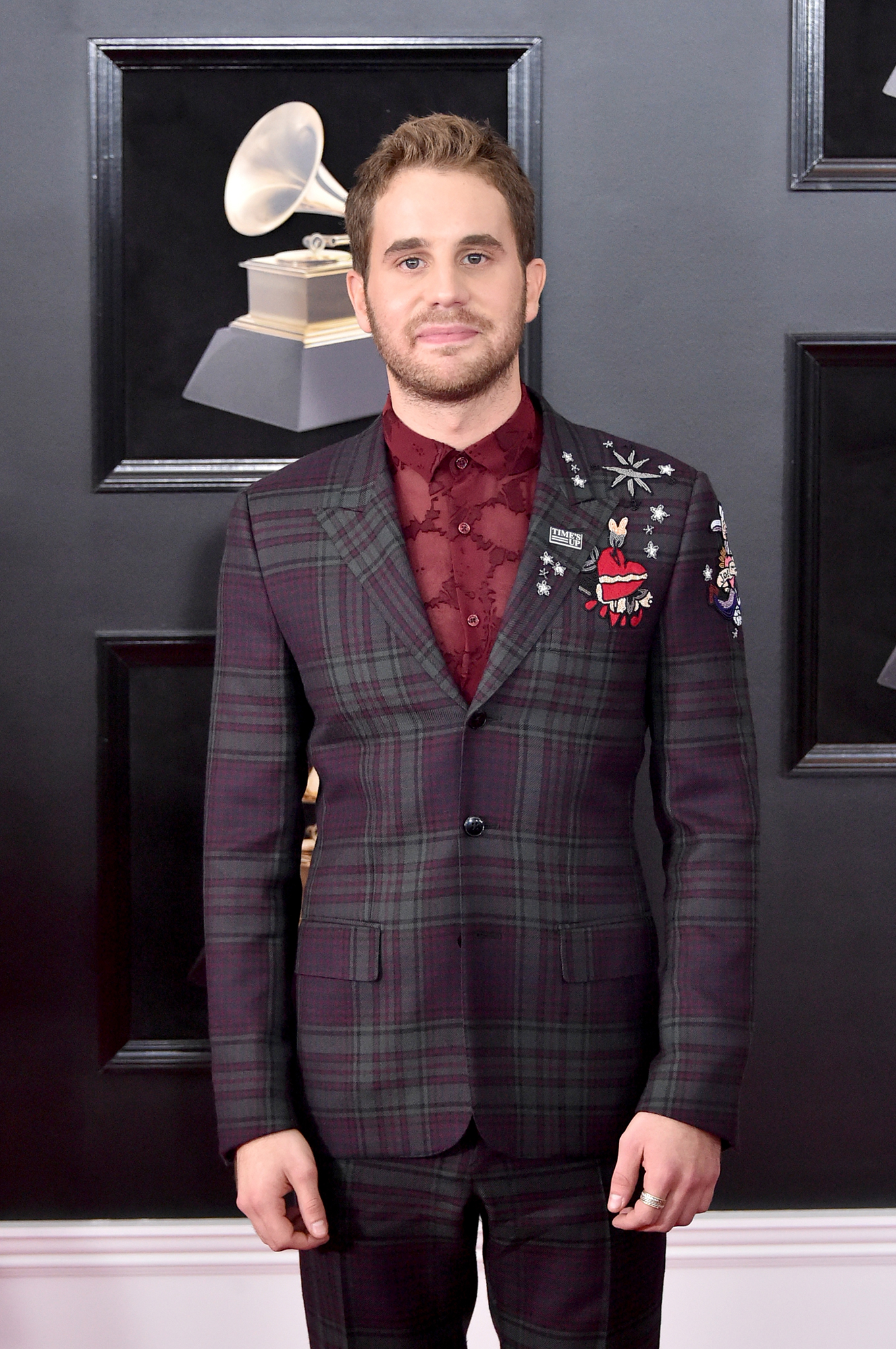 Actor Ben Platt attends the 60th Annual GRAMMY Awards at Madison Square Garden on January 28, 2018 in New York City.
