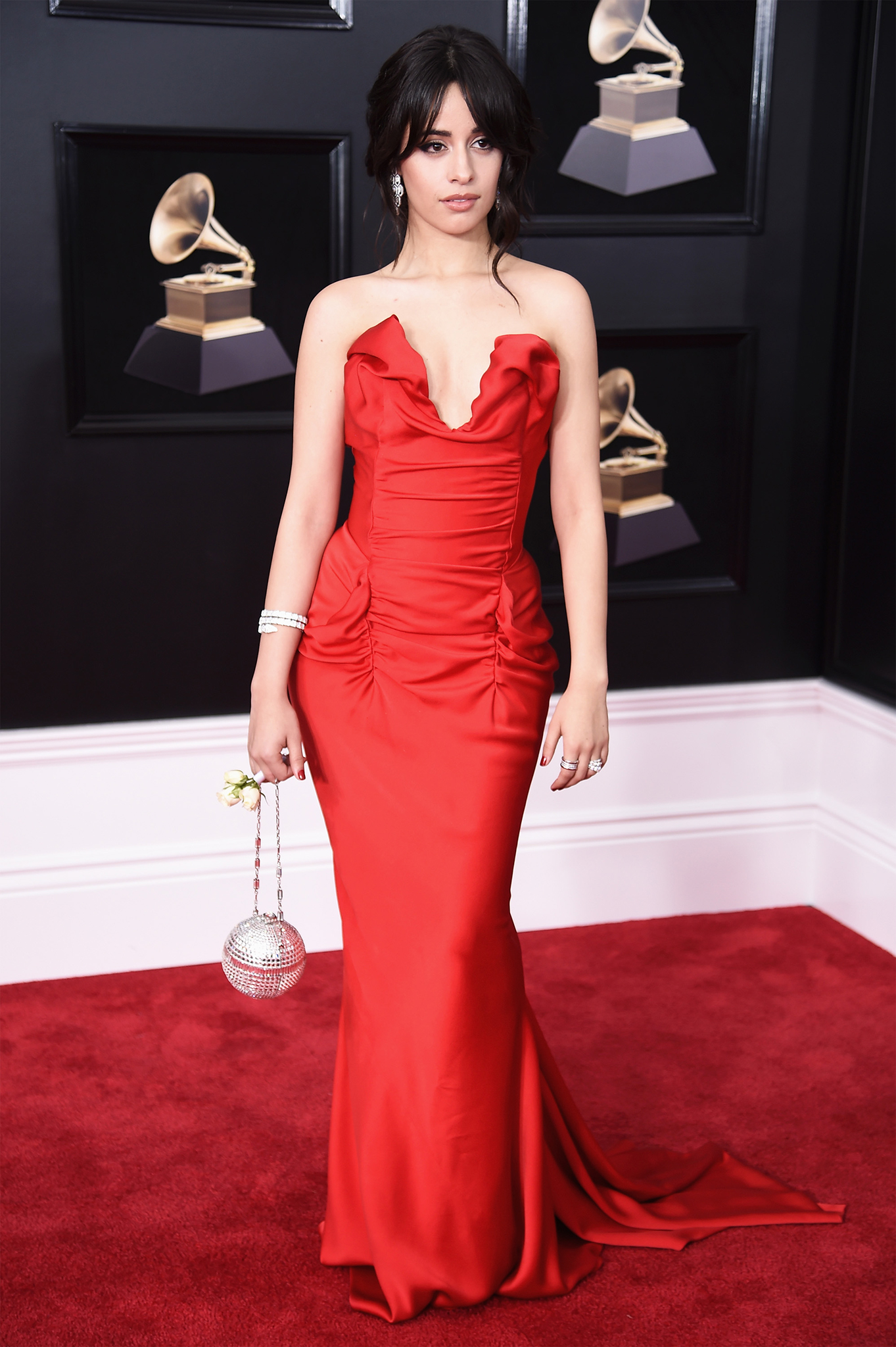 Recording artist Camila Cabello attends the 60th Annual GRAMMY Awards at Madison Square Garden on January 28, 2018 in New York City.