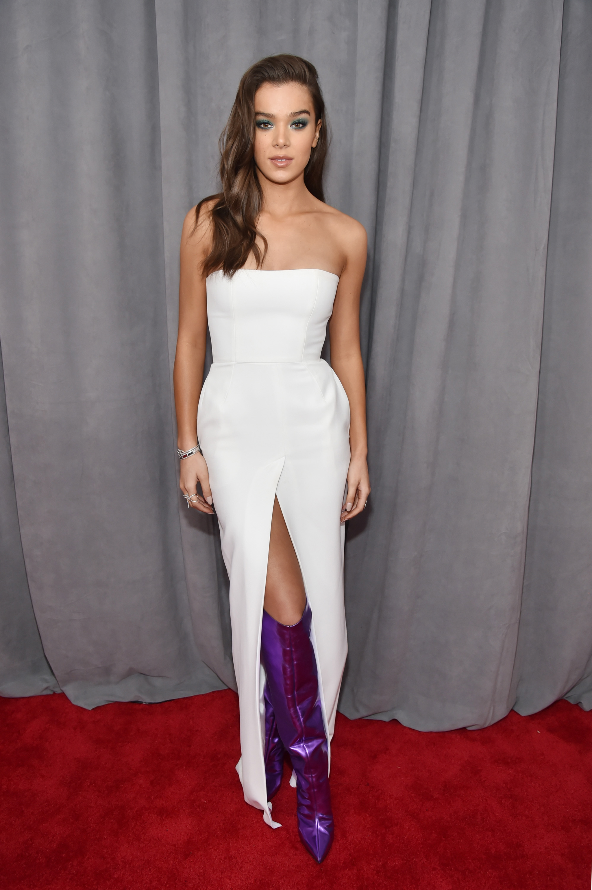 Recording artist and actor Hailee Steinfeld attends the 60th Annual GRAMMY Awards at Madison Square Garden on January 28, 2018 in New York City.