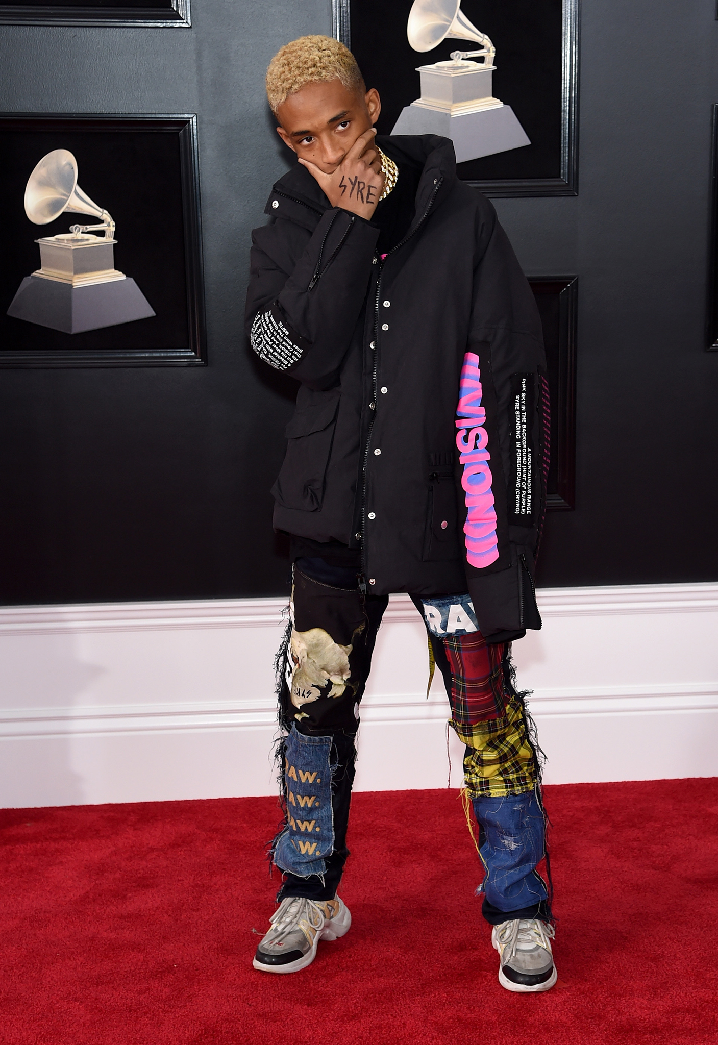 Recording artist-actor Jaden Smith attends the 60th Annual GRAMMY Awards at Madison Square Garden on January 28, 2018 in New York City.