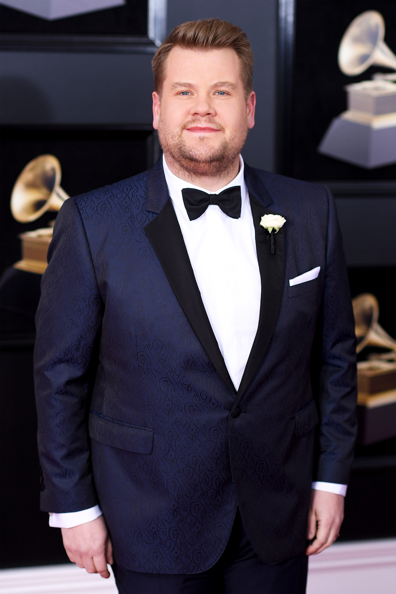 Host James Corden attends the 60th Annual GRAMMY Awards at Madison Square Garden on January 28, 2018 in New York City.