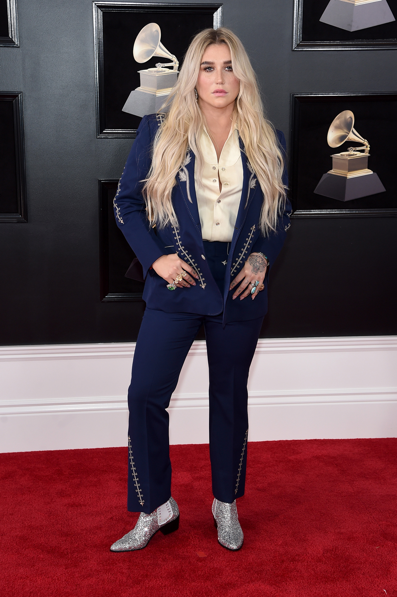 Recording artist Kesha attends the 60th Annual GRAMMY Awards at Madison Square Garden on January 28, 2018 in New York City.