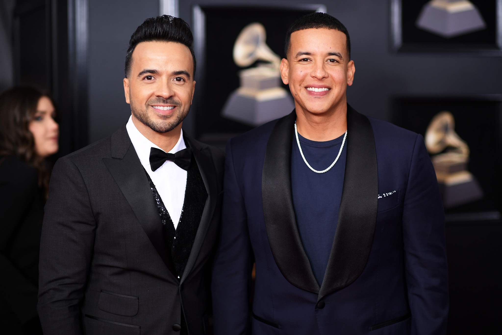 Recording artists Luis Fonsi and Daddy Yankee attend the 60th Annual GRAMMY Awards at Madison Square Garden on January 28, 2018 in New York City.