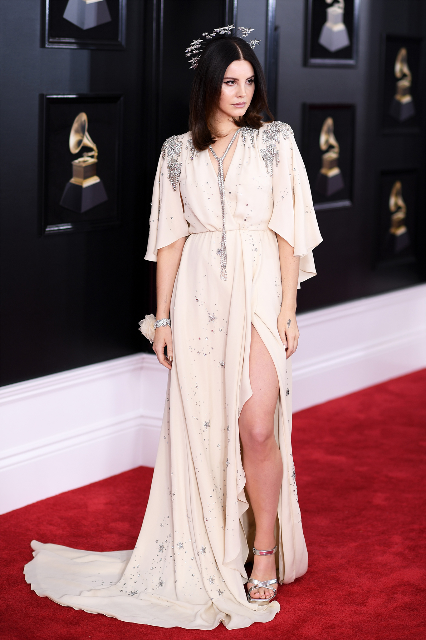 Recording artist Lana Del Rey attends the 60th Annual GRAMMY Awards at Madison Square Garden on January 28, 2018 in New York City.