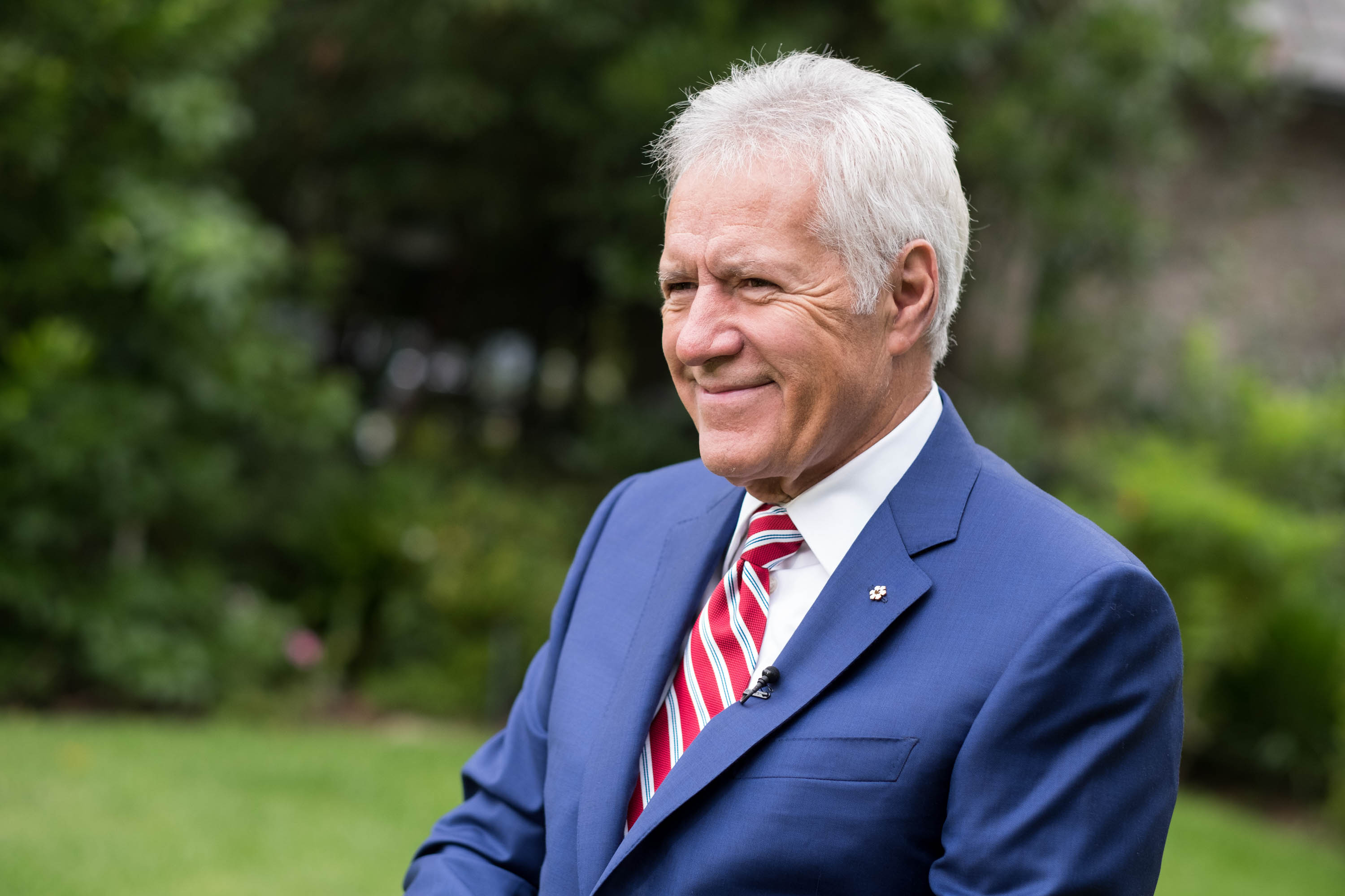 Alex Trebek attends the 150th anniversary of Canada's Confederation on June 30, 2017 in Los Angeles, California.