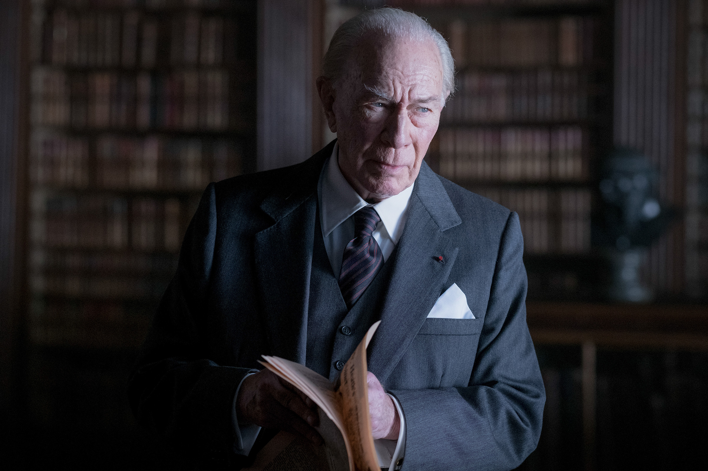 Christopher Plummer in All The Money in The World.
