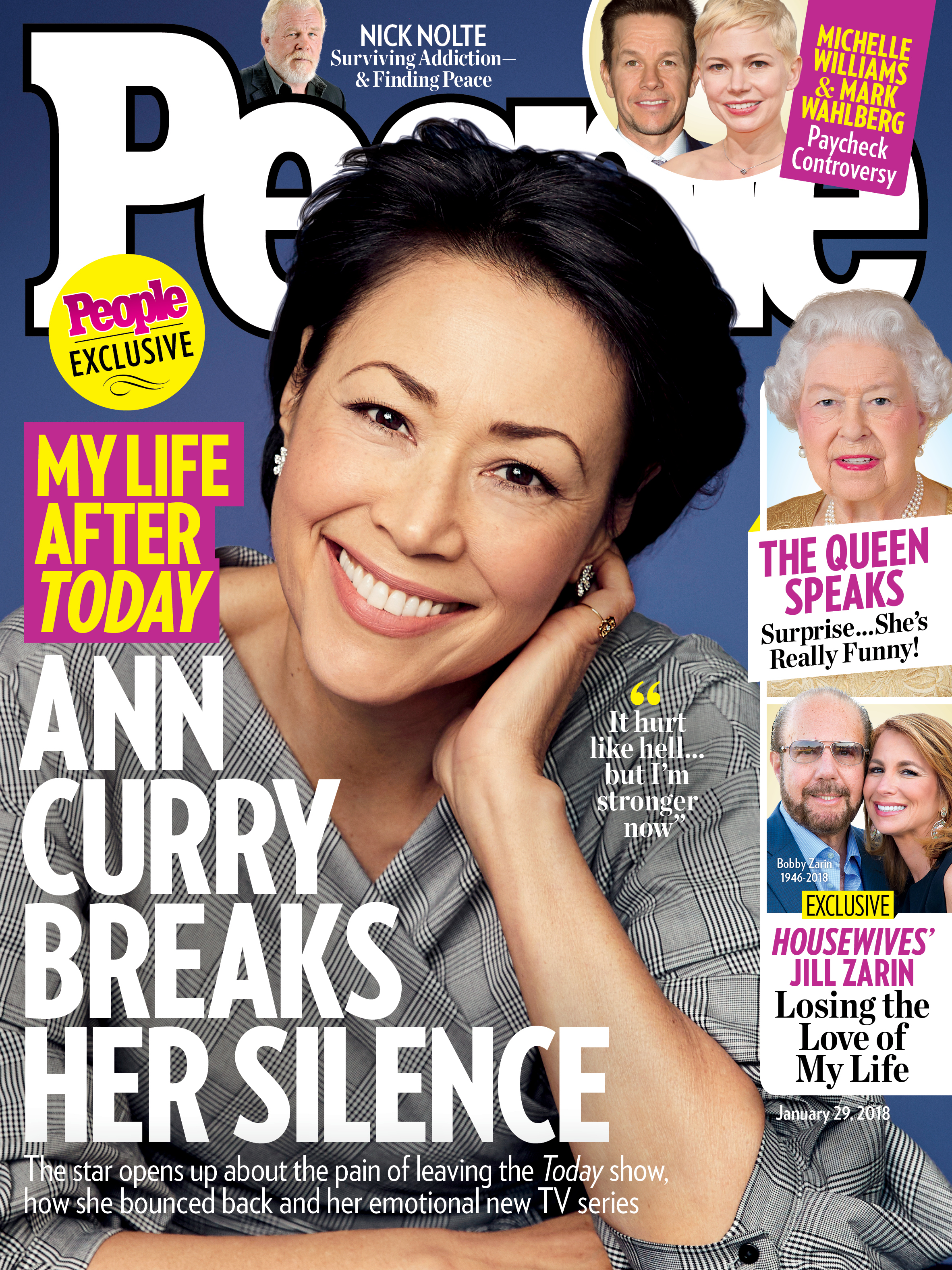 Ann Curry on the cover of People magazine