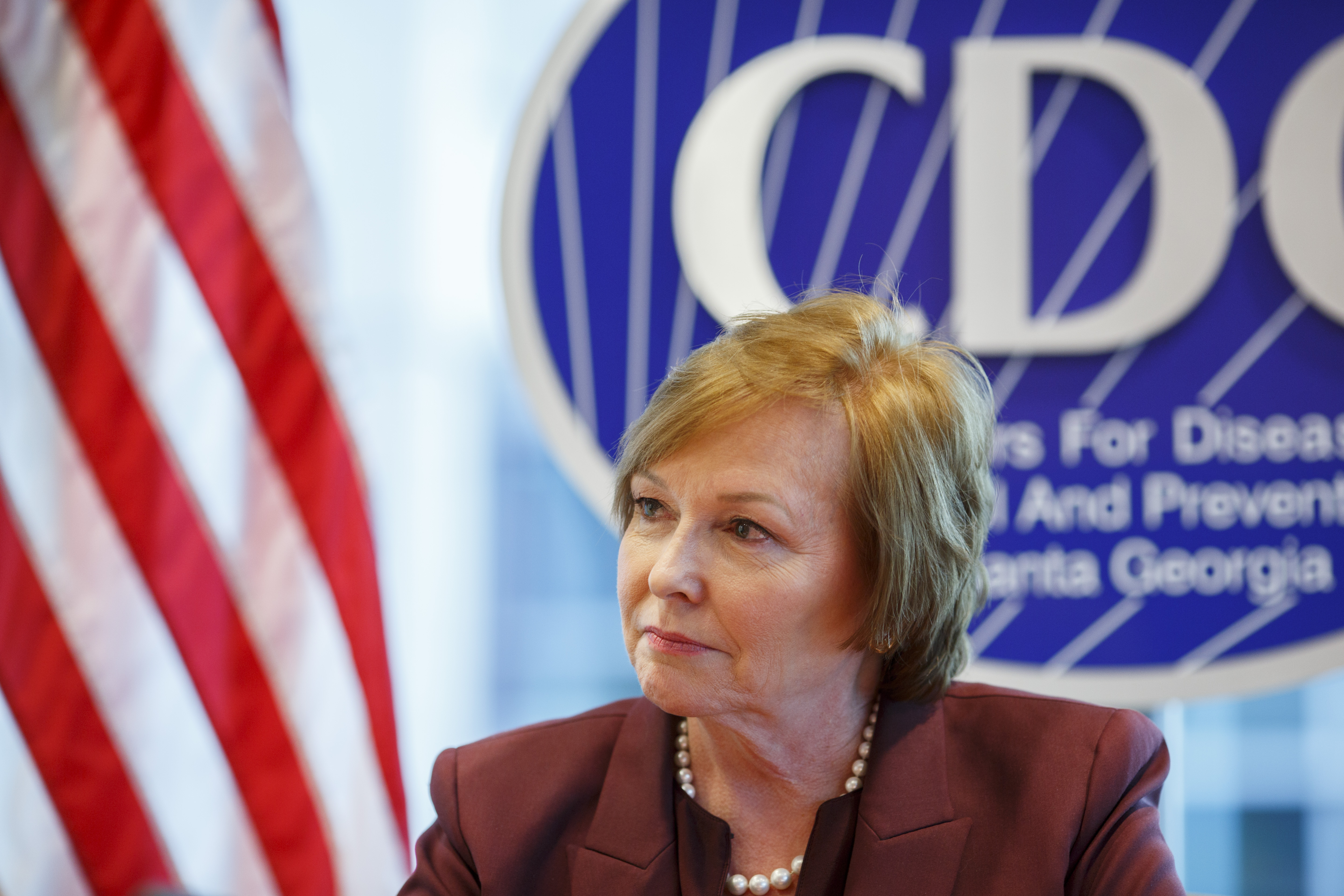 Former Centers for Disease Control and Prevention Director Dr. Brenda Fitzgerald