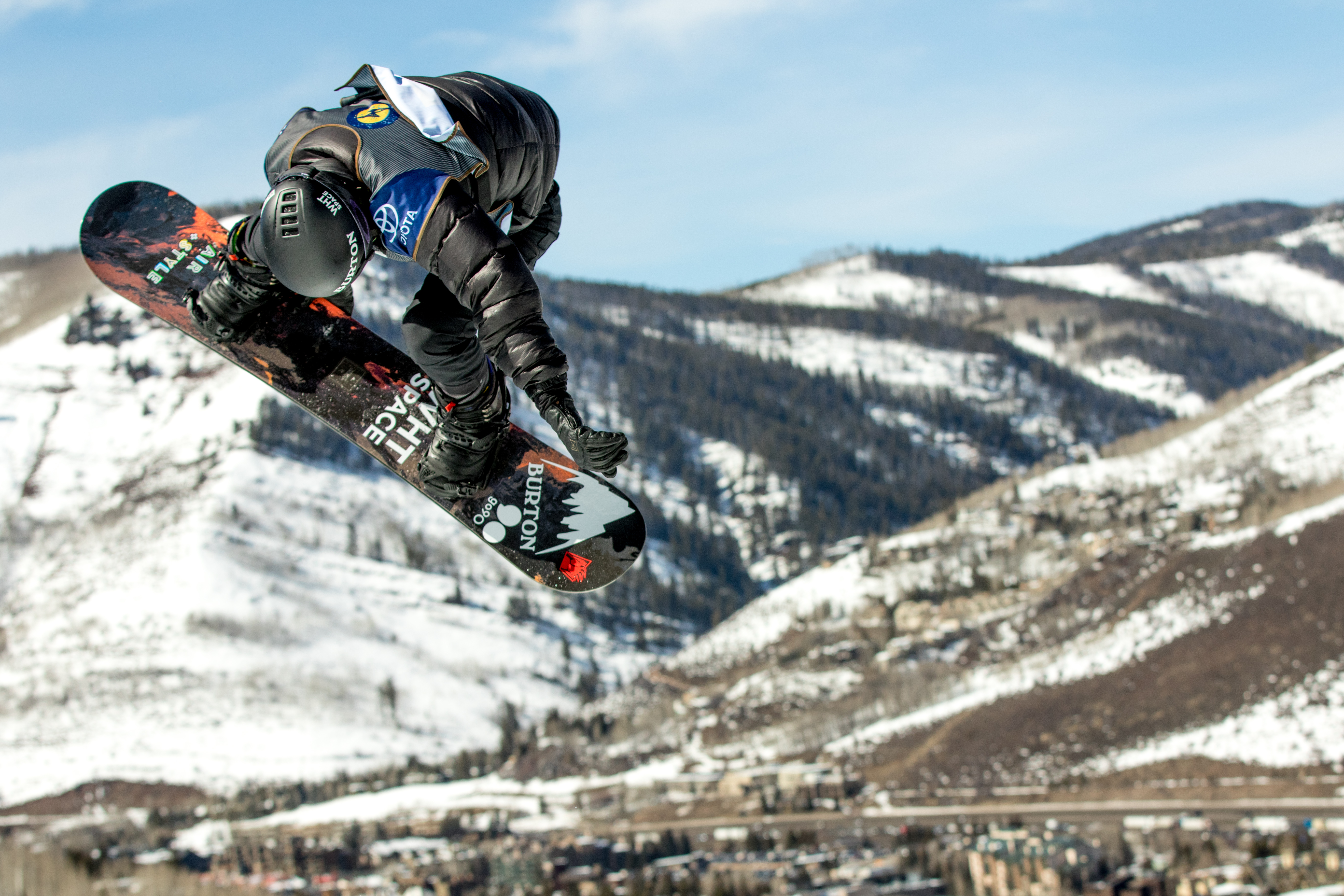 Shaun White competes during the Men's Halfpipe finals of the 2017 Burton U.S. Open on March 4, 2017 in Vail, Colo. Daniel Milchev—Getty Images