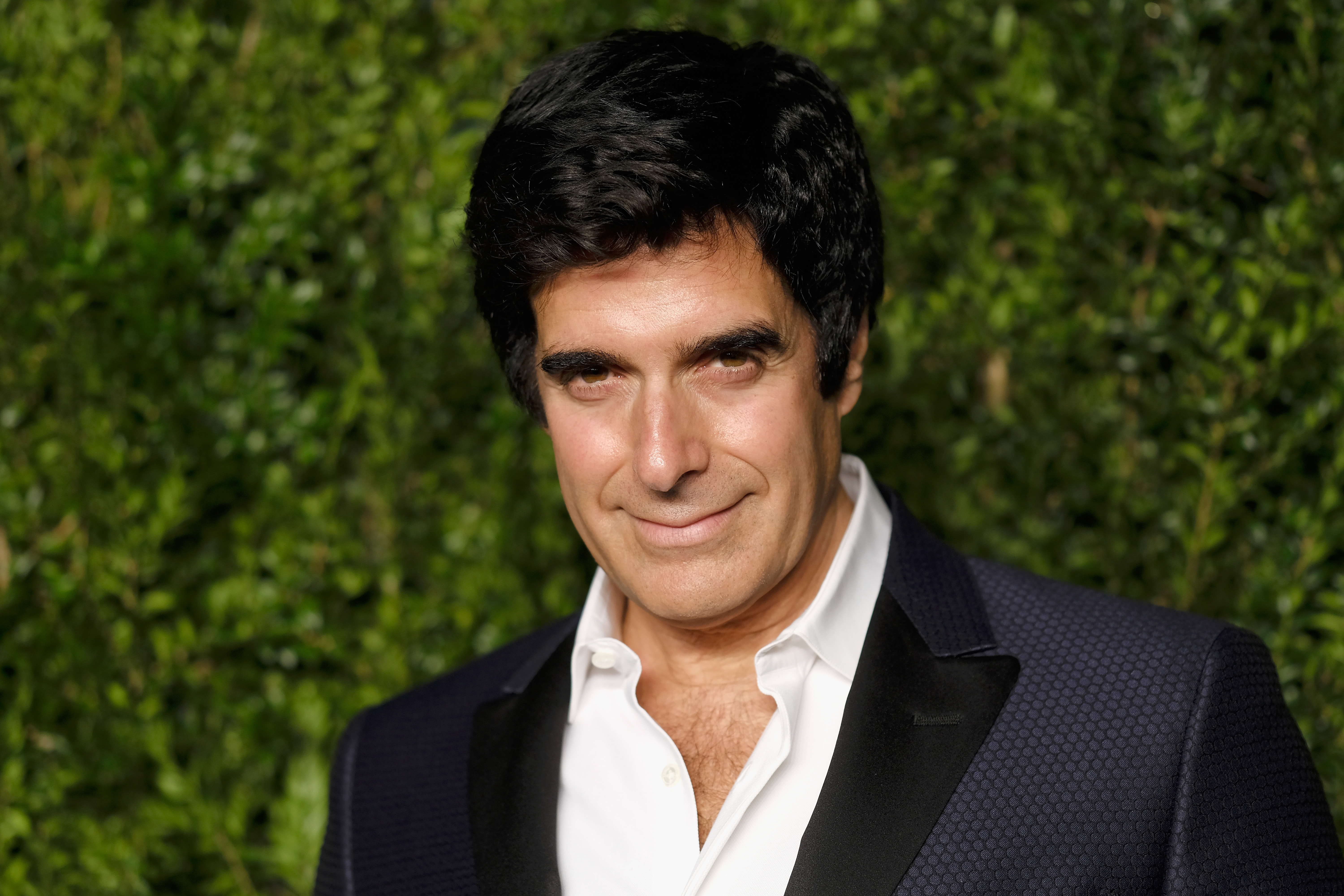 Illusionist David Copperfield attends 13th Annual CFDA/Vogue Fashion Fund Awards at Spring Studios on November 7, 2016 in New York City.