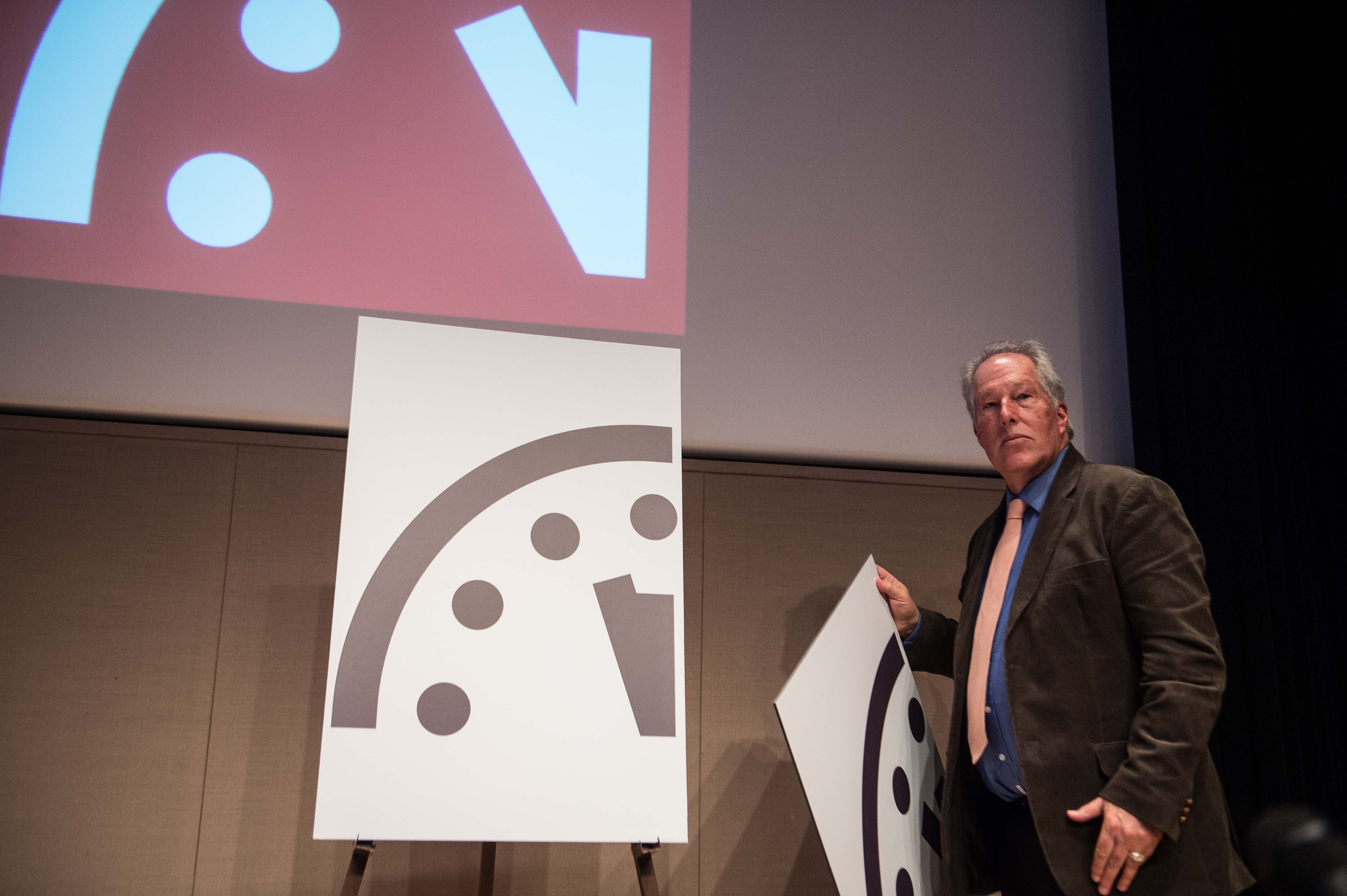 Doomsday Clock 2018 Moves Closer To Midnight Thanks To Trump Time