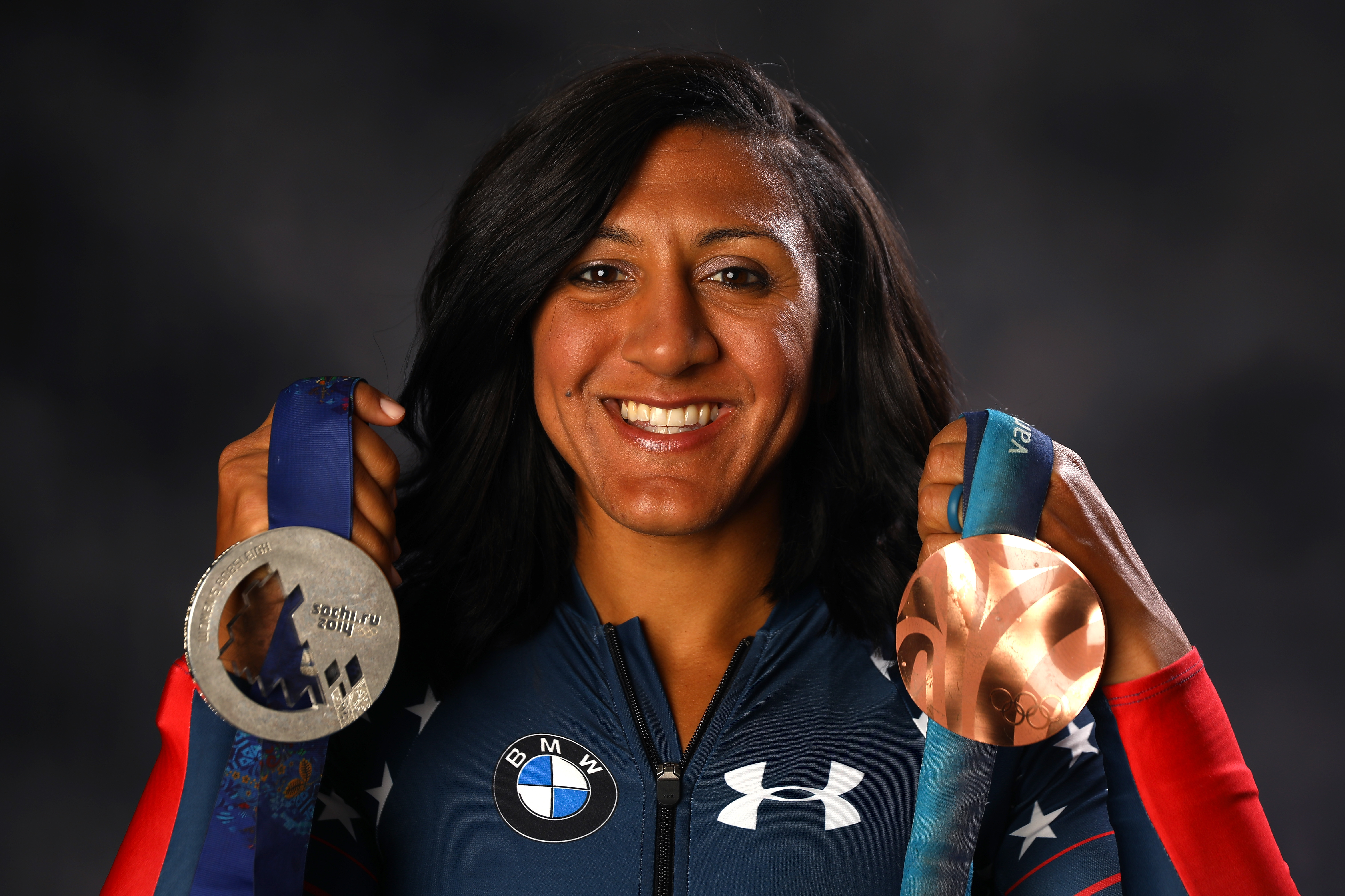 Bobsledder Elana Meyers Taylor poses for a portrait during the Team USA Media Summit ahead of the PyeongChang 2018 Olympic Winter Games on September 25, 2017 in Park City, Utah.
