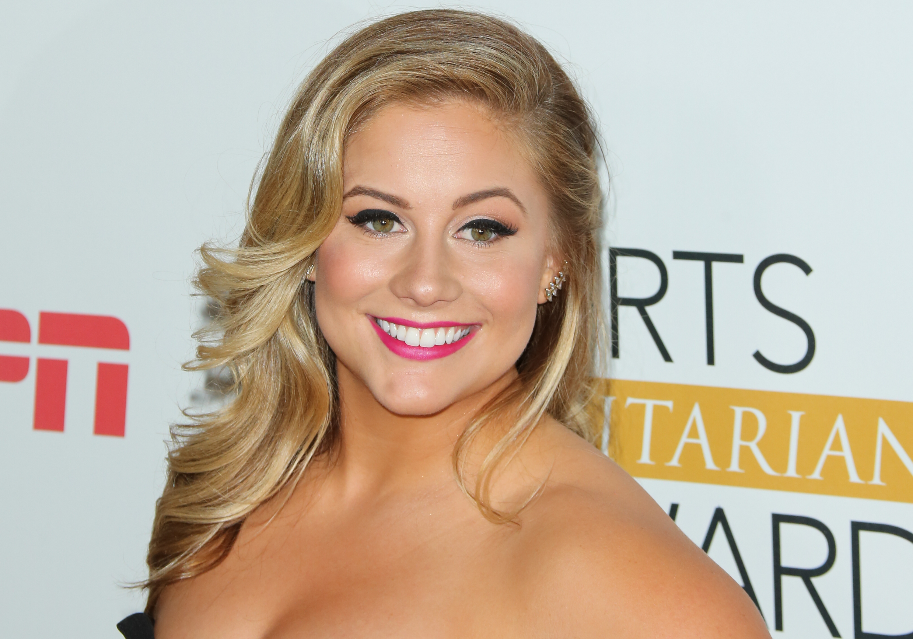 LOS ANGELES, CA - JULY 14:  Former Olympic American Artistic Gymnast Shawn Johnson attends the 2015 Sports Humanitarian Of The Year Awards at The Conga Room at L.A. Live on July 14, 2015 in Los Angeles, California.  (Photo by Paul Archuleta/FilmMagic)